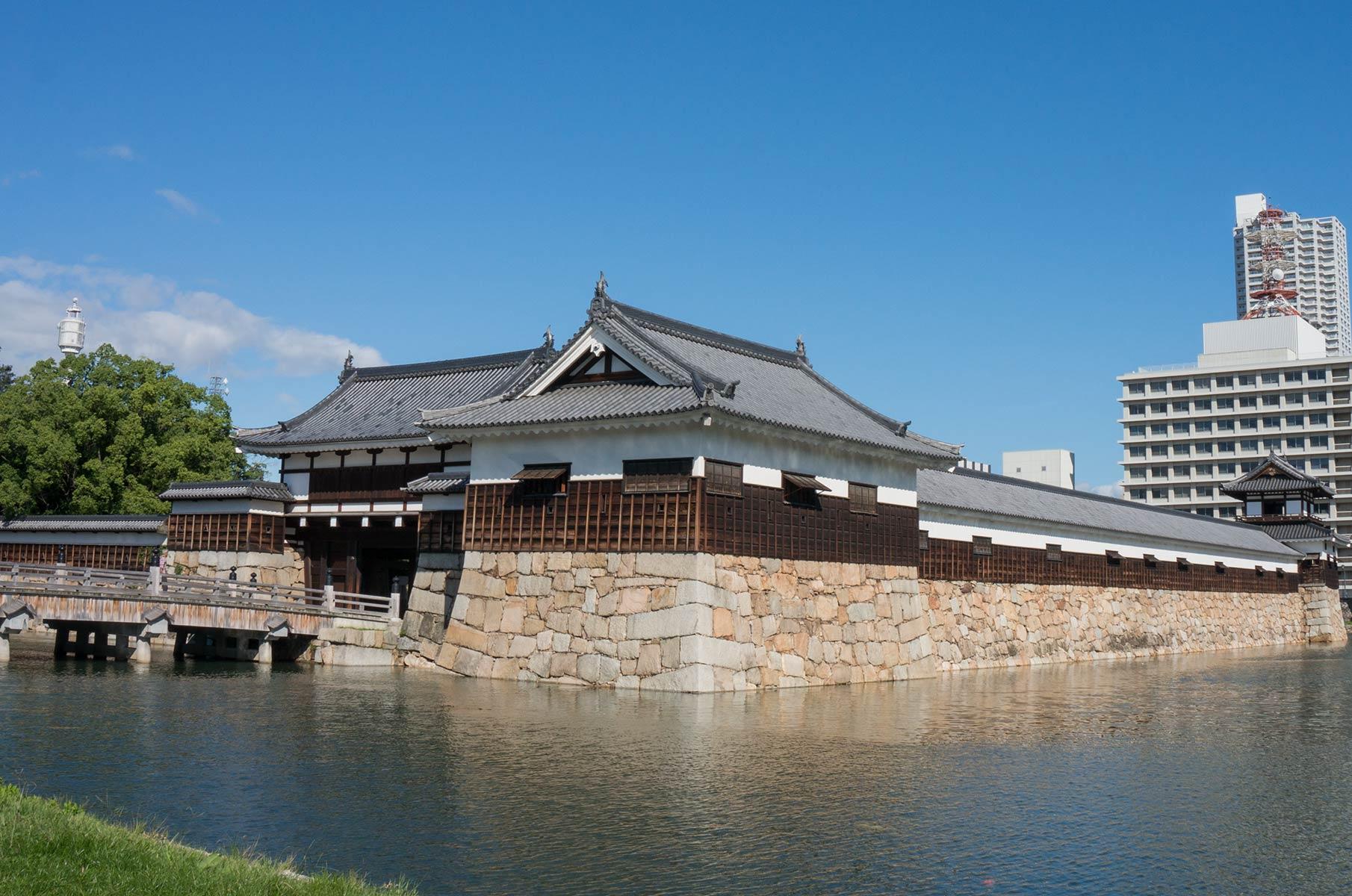 Burg Hiroshima in Japan