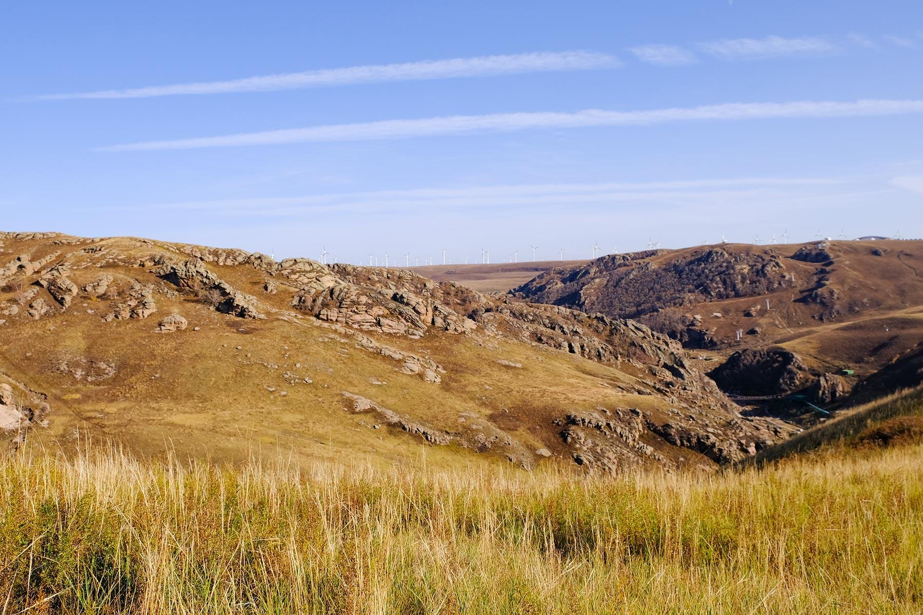 Huanghuagou Grassland in der Inneren Mongolei