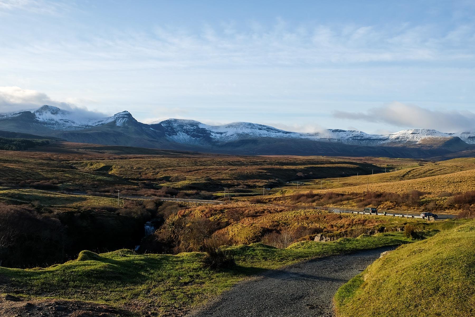 Landschaft auf der Isle of Skye, Schottland