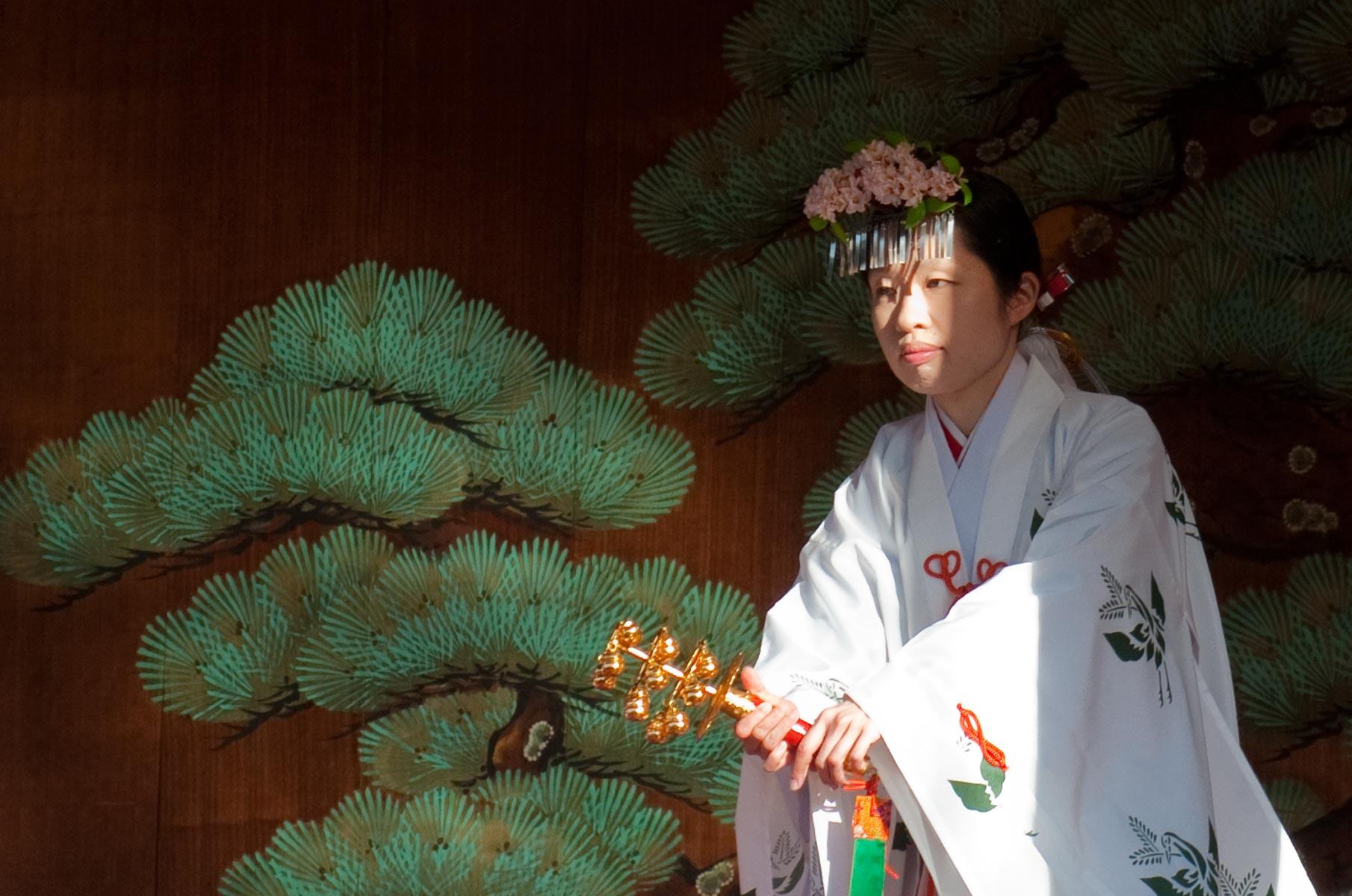 Setsubun am Sensoji Tempel in Tokyo, Japan
