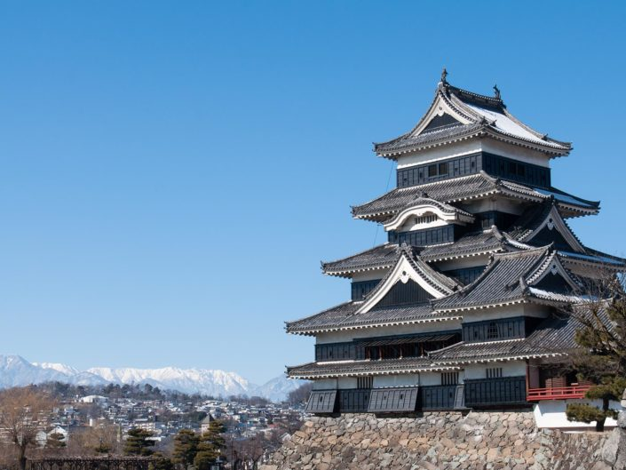 Burg Matsumoto in Japan