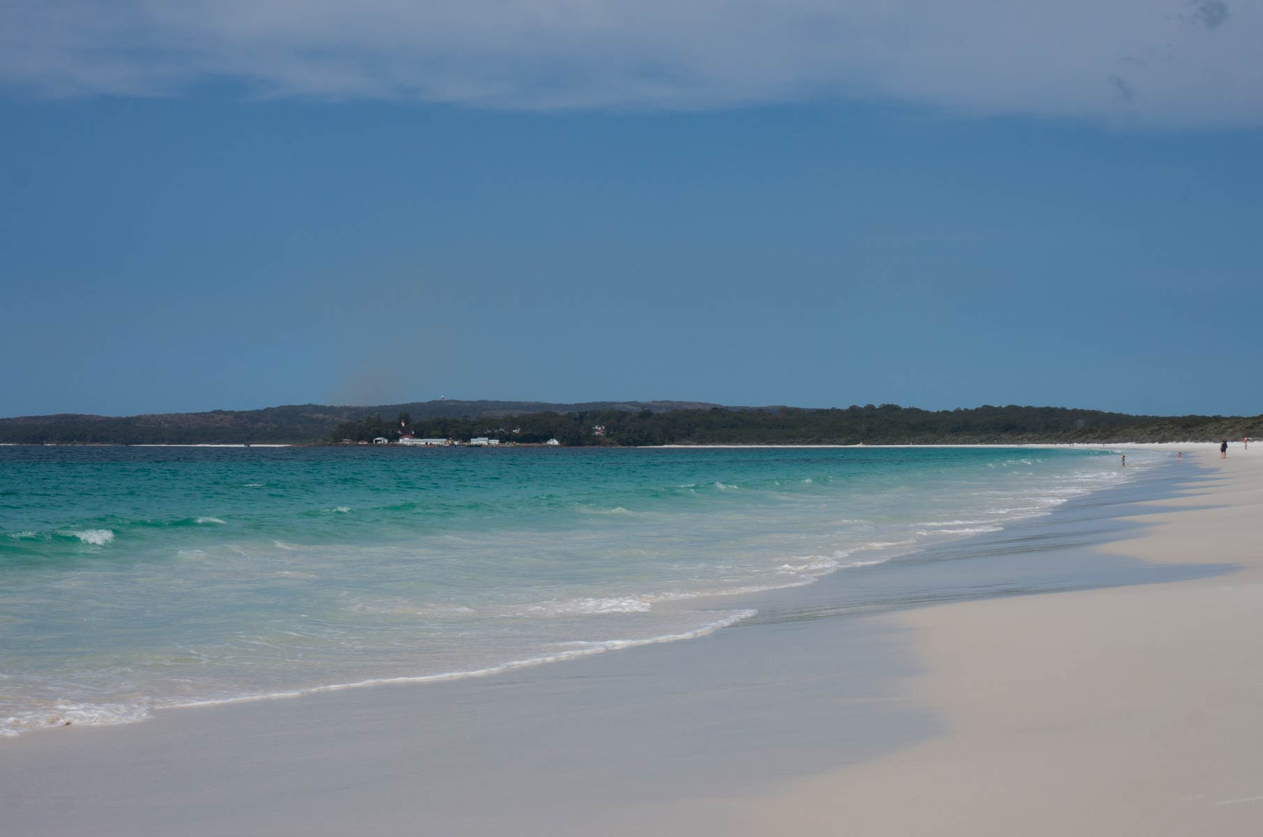 Hyams Beach in der Jervis Bay, Australien
