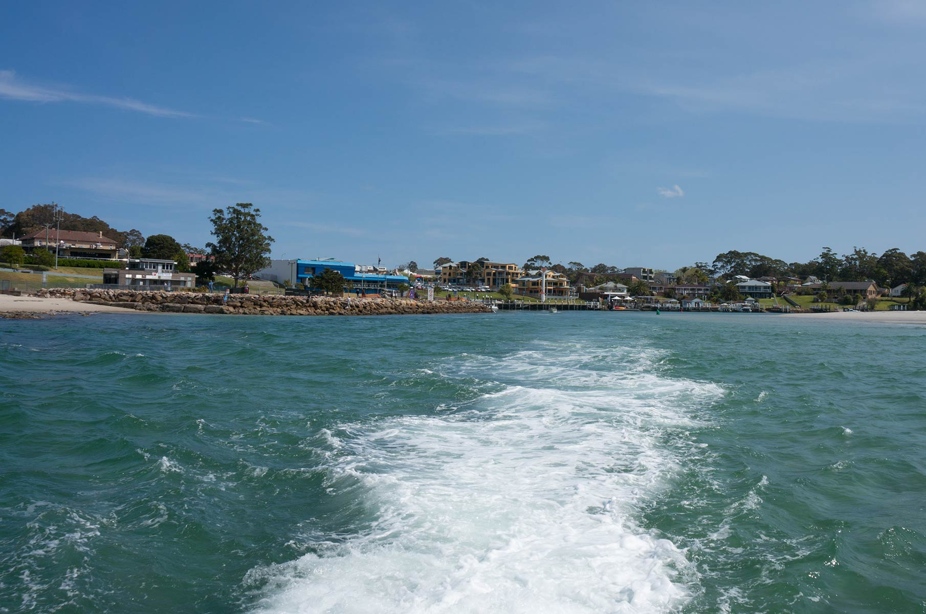 Huskisson in der Jervis Bay, Australien