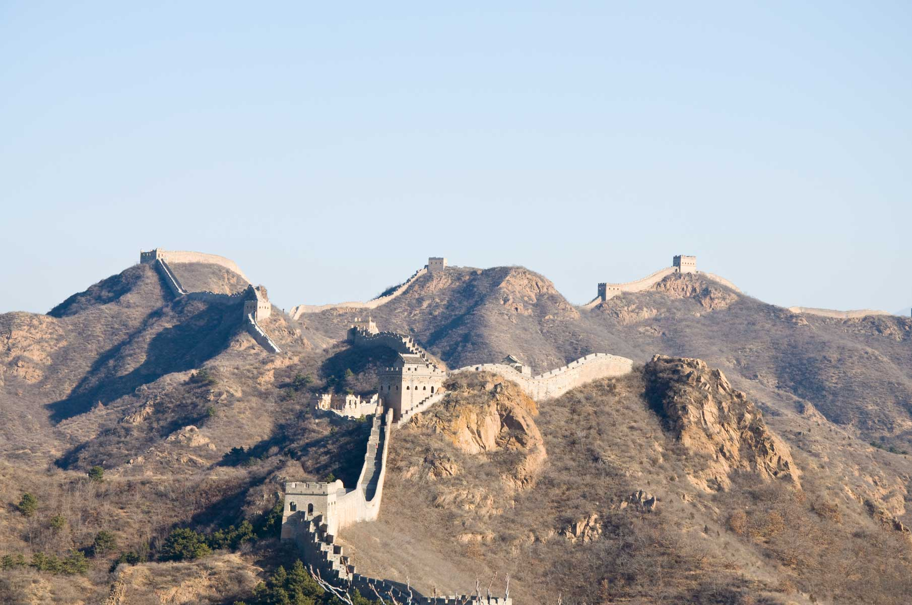 Jinshanling Great Wall Chinesische Mauer in China