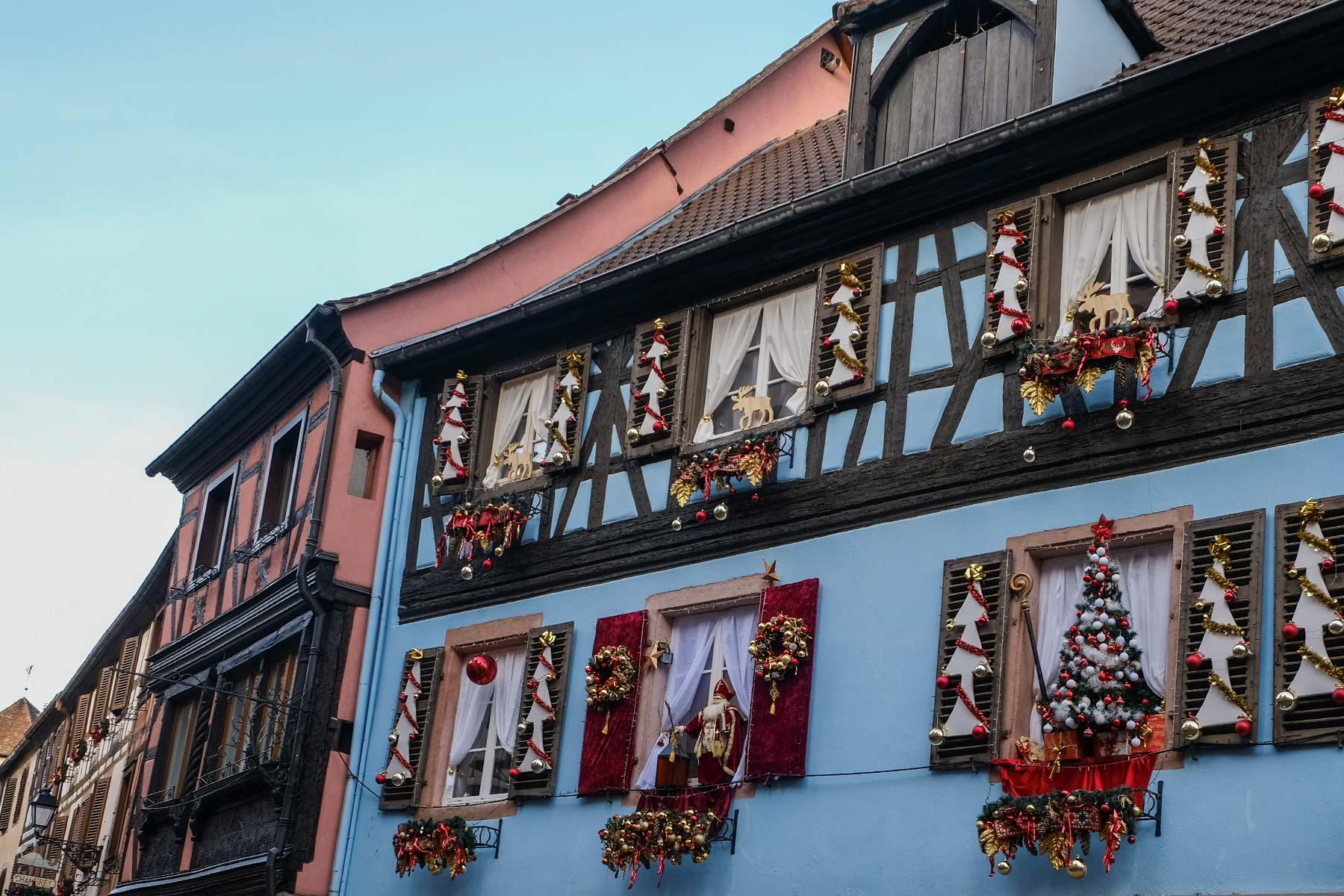 Weihnachtsmarkt in Kaysersberg, Vogesen
