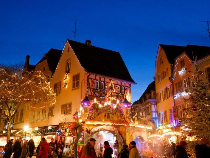 Weihnachtsmarkt in Kaysersberg und Colmar