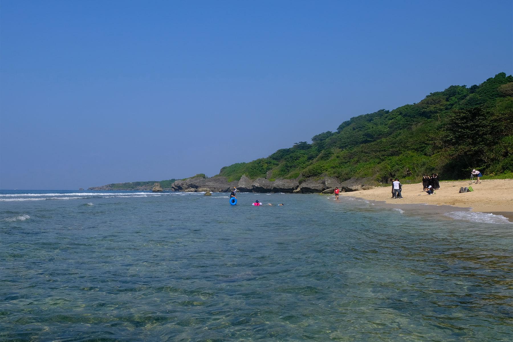 Gebanwan Strand auf Xiaoliuqiu