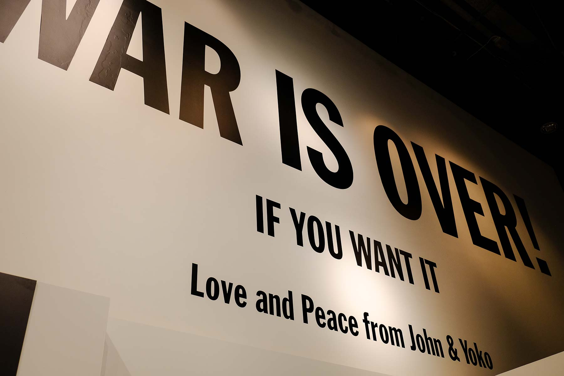 Museum of Liverpool mit der John Lennon Ausstellung 'Imagine Peace'