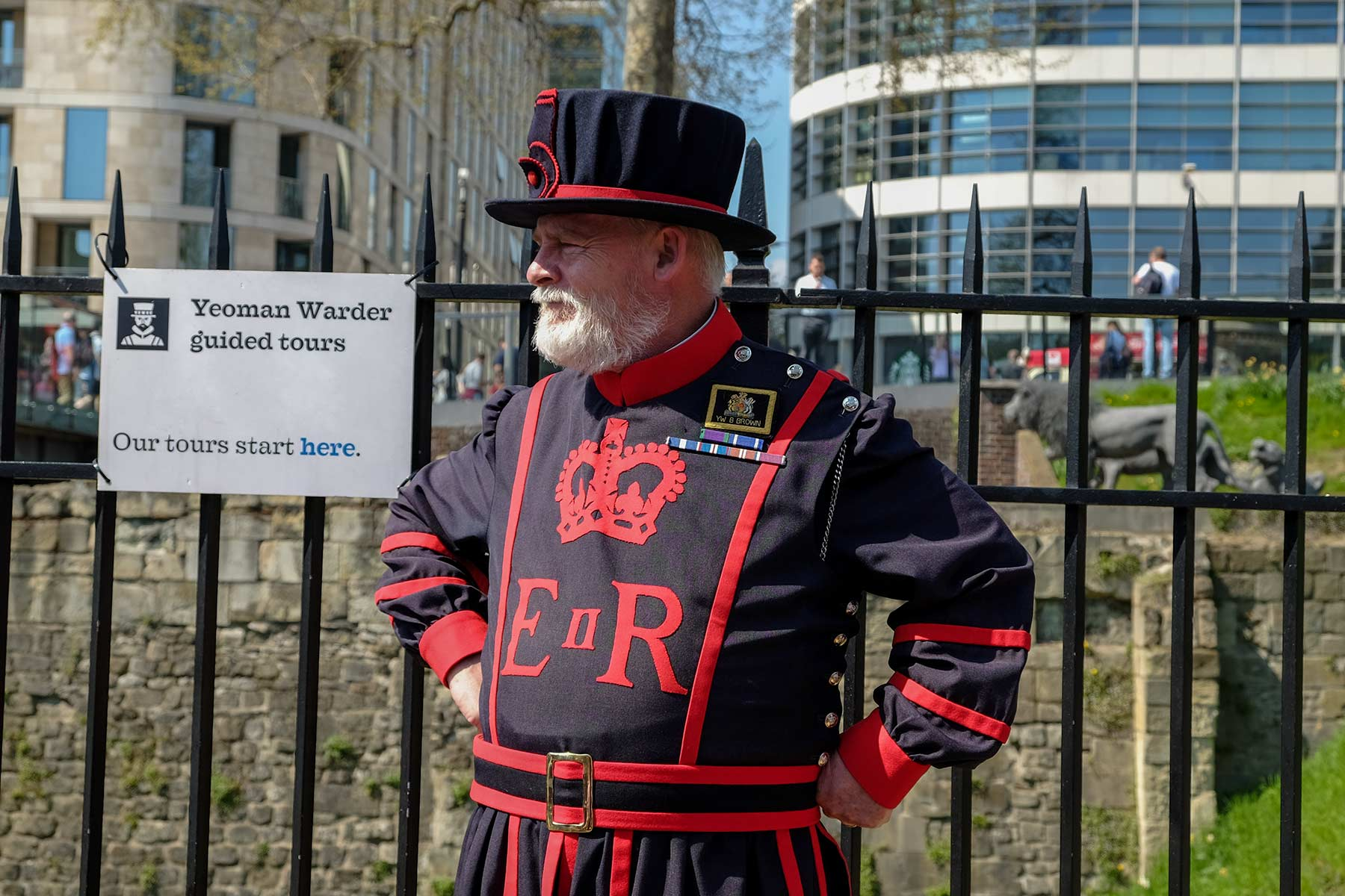 Yeoman Warder Tower of London in London, England