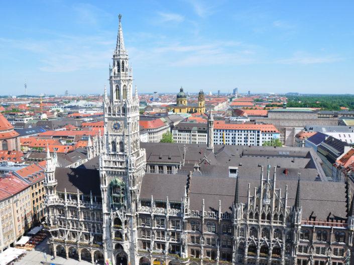 München City und Olympiapark
