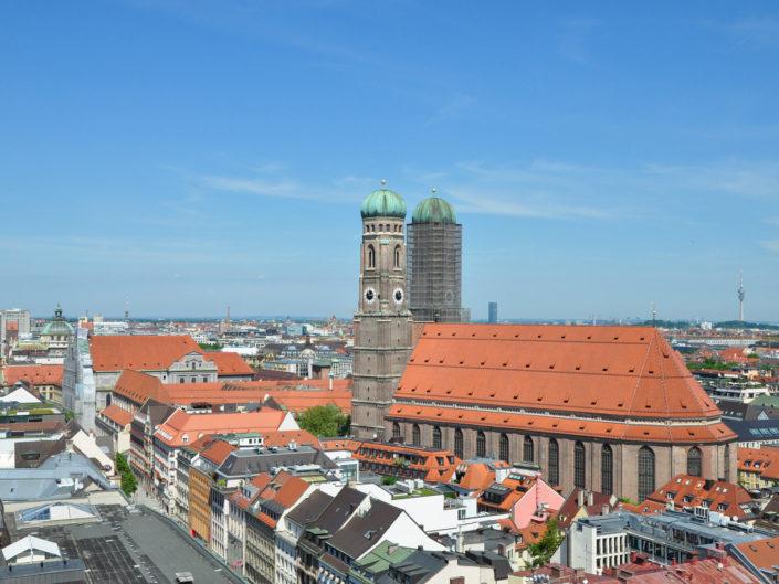 Münchner City und Olympiapark