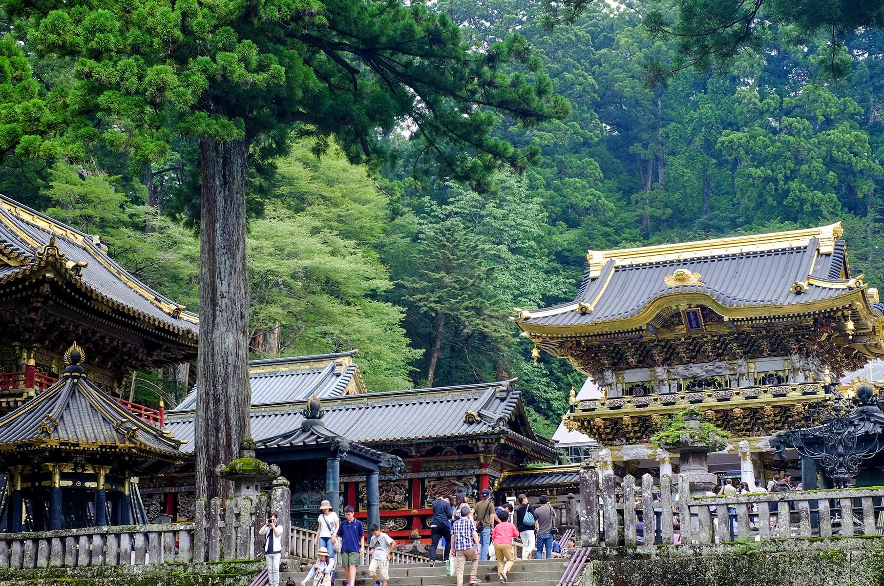 Toshugu Schrein in Nikko, Japan