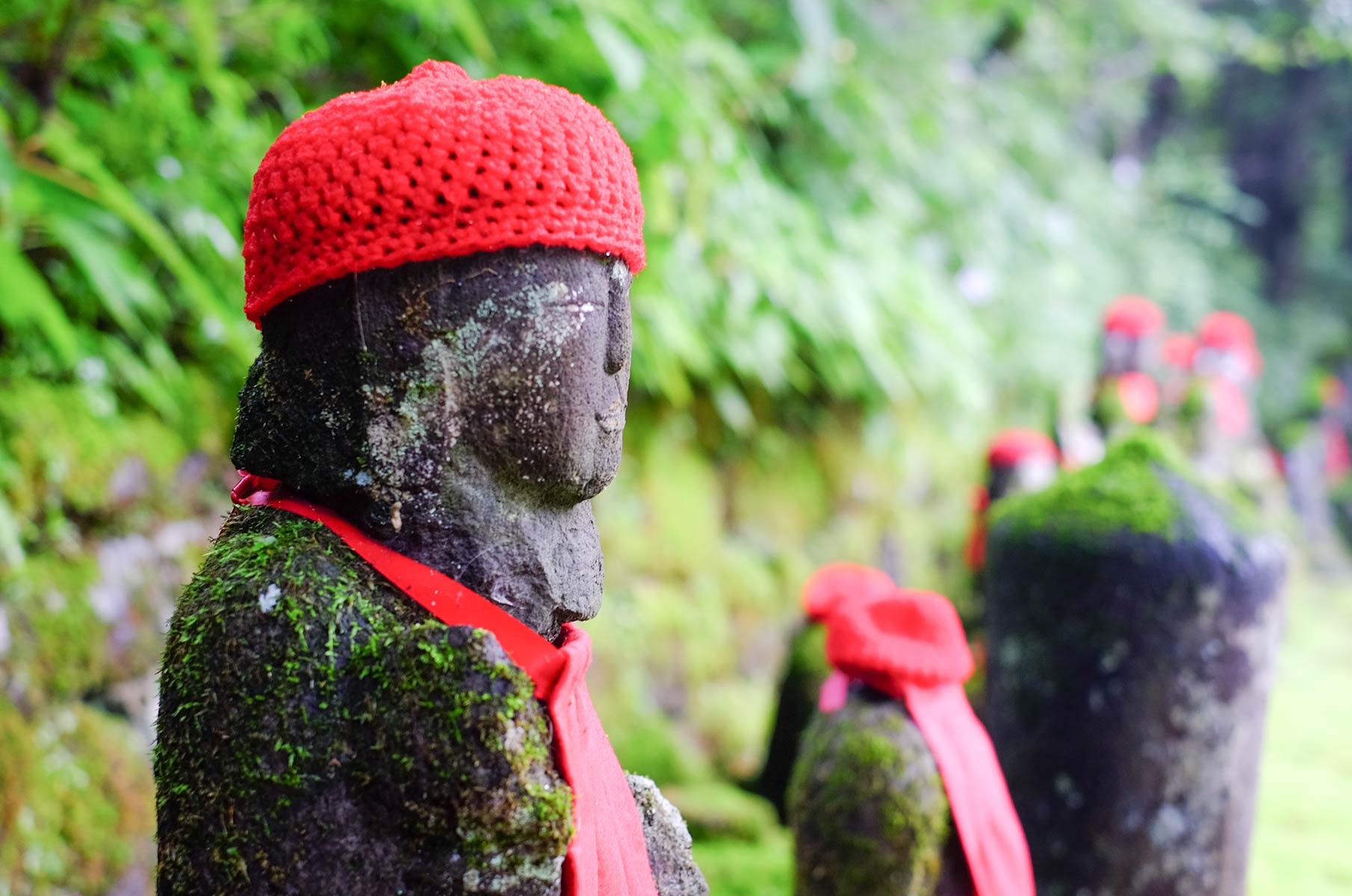 Kanmangafuchi Abgrund in Nikko, Japan