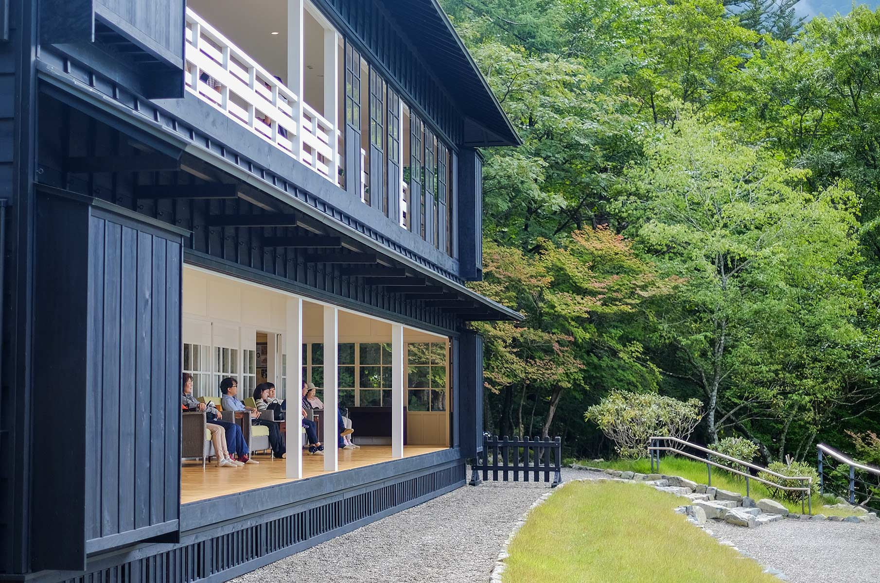 British Embassy Villa Memorial Park am Chuzenji See in Nikko, Japan