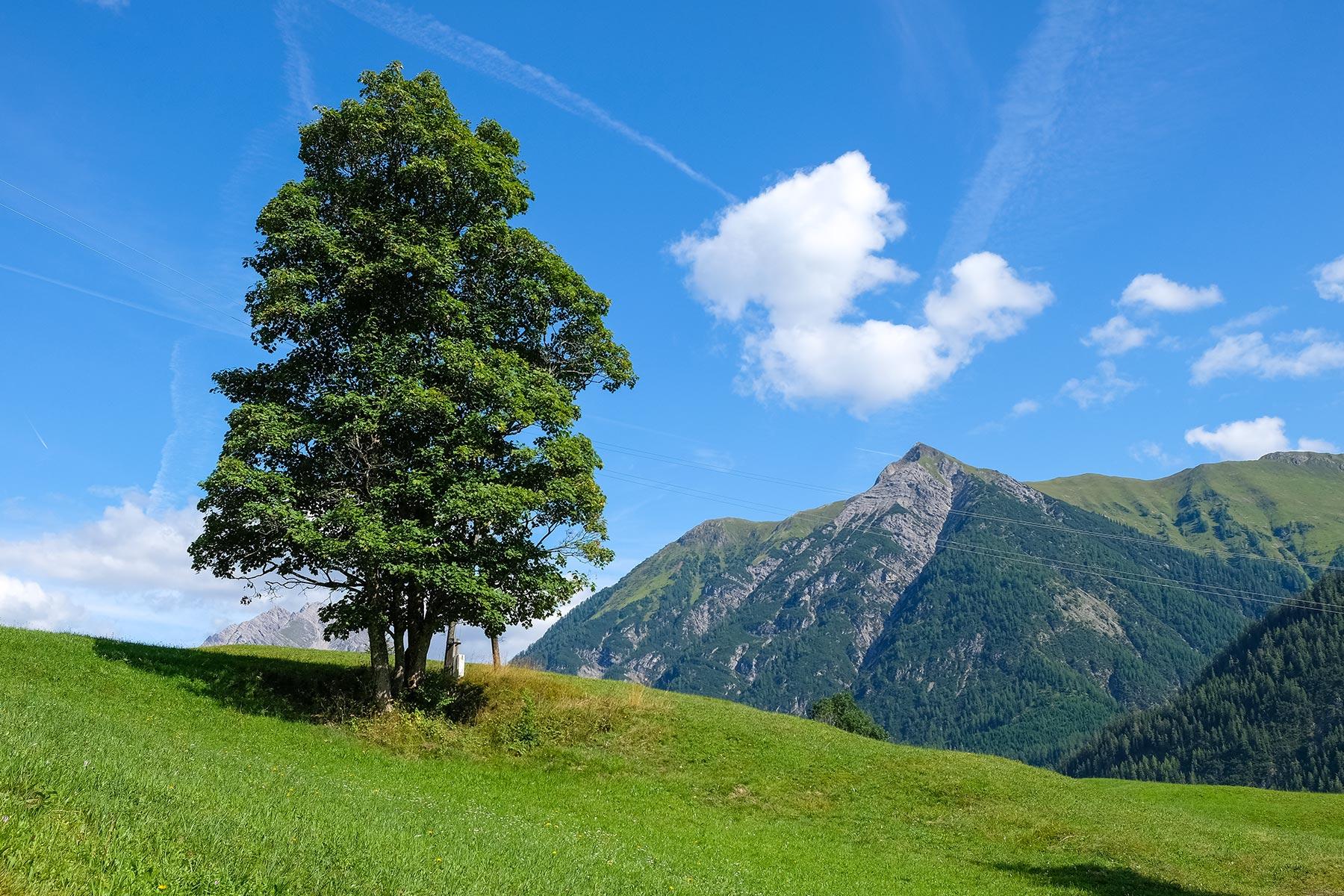 Holzgau in Österreich
