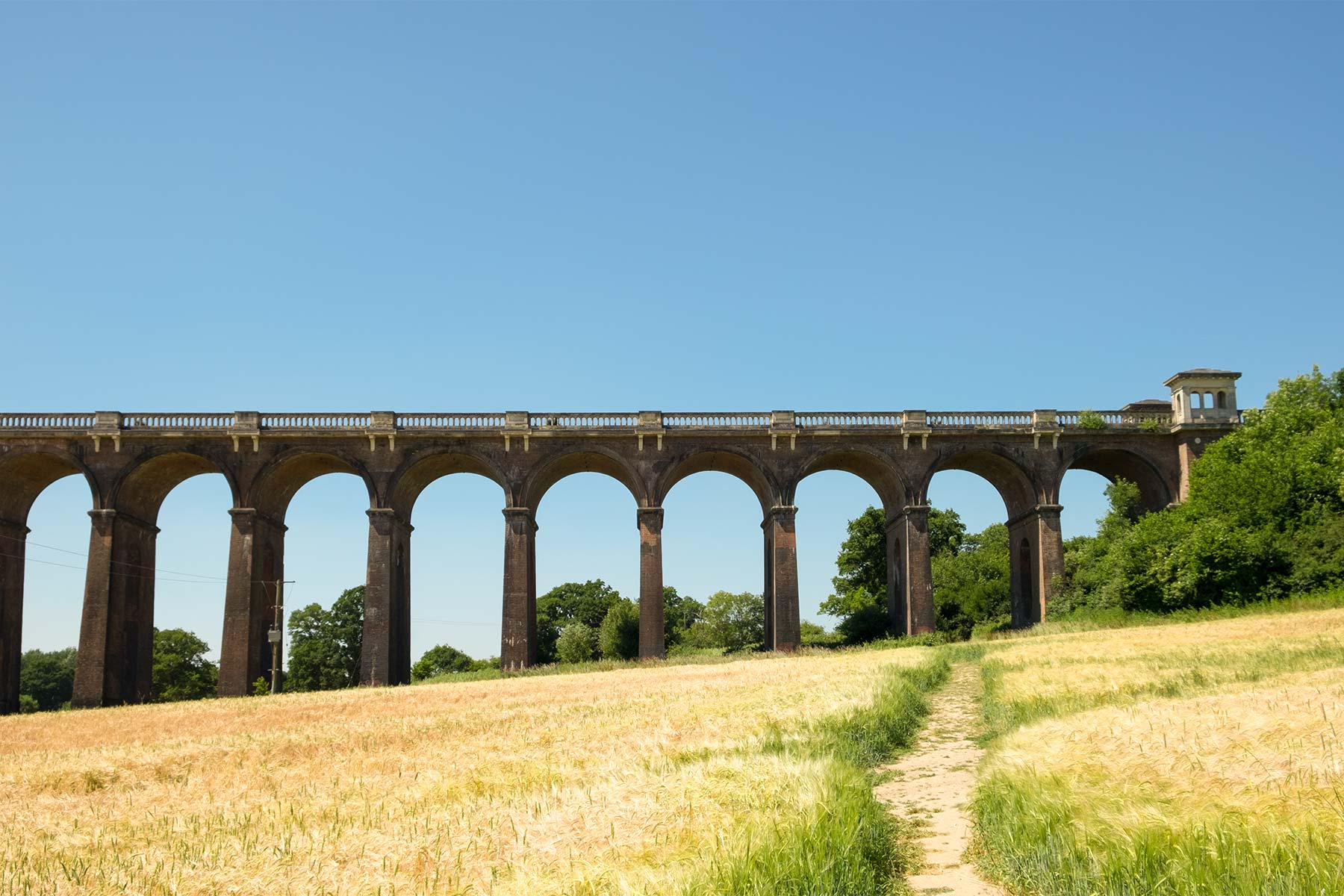Ouse Valley Viadukt in Sussex, England