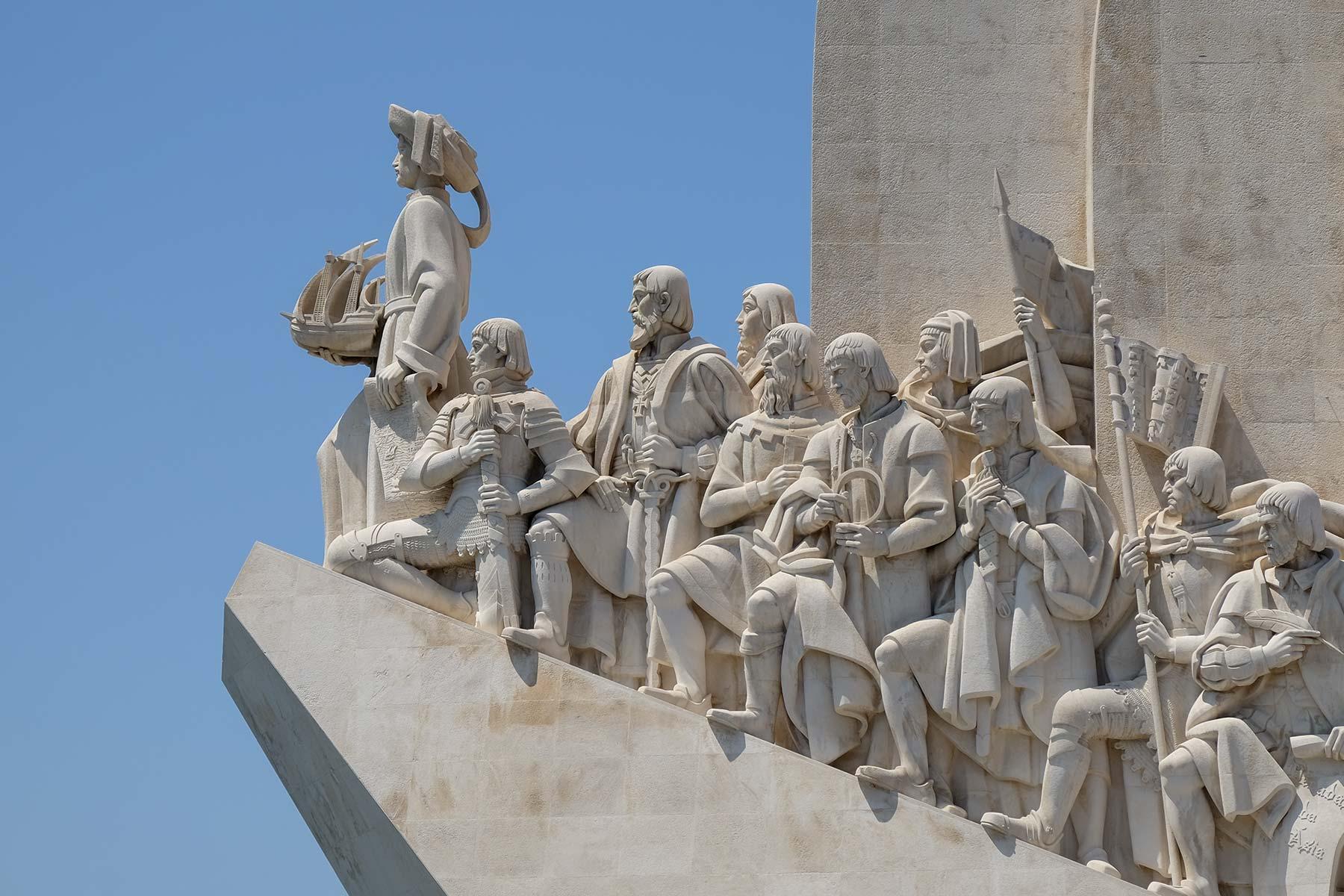 Padrão dos Descobrimentos in Lissabon Portugal