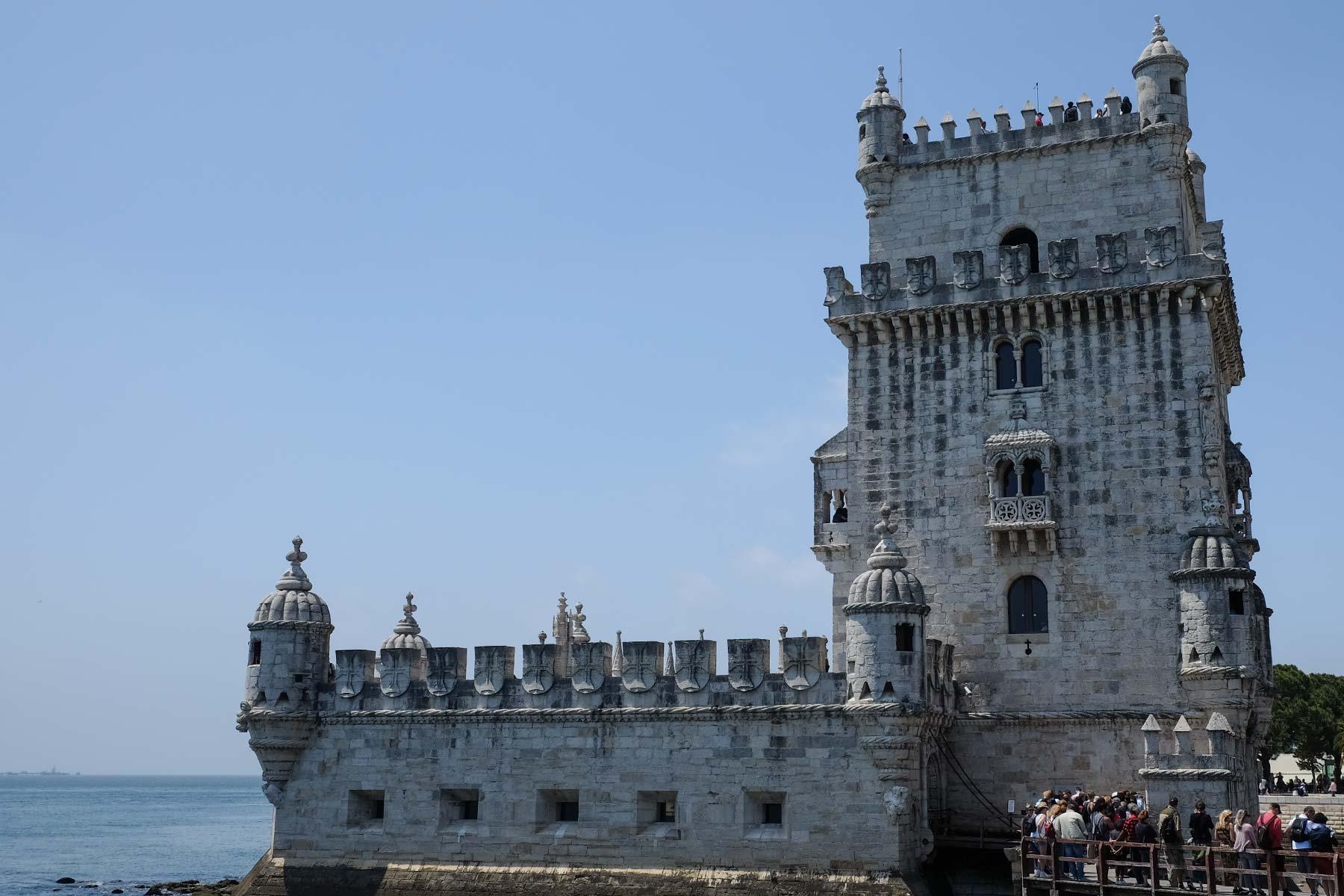 Torre de Belém in Lissabon, Portugal