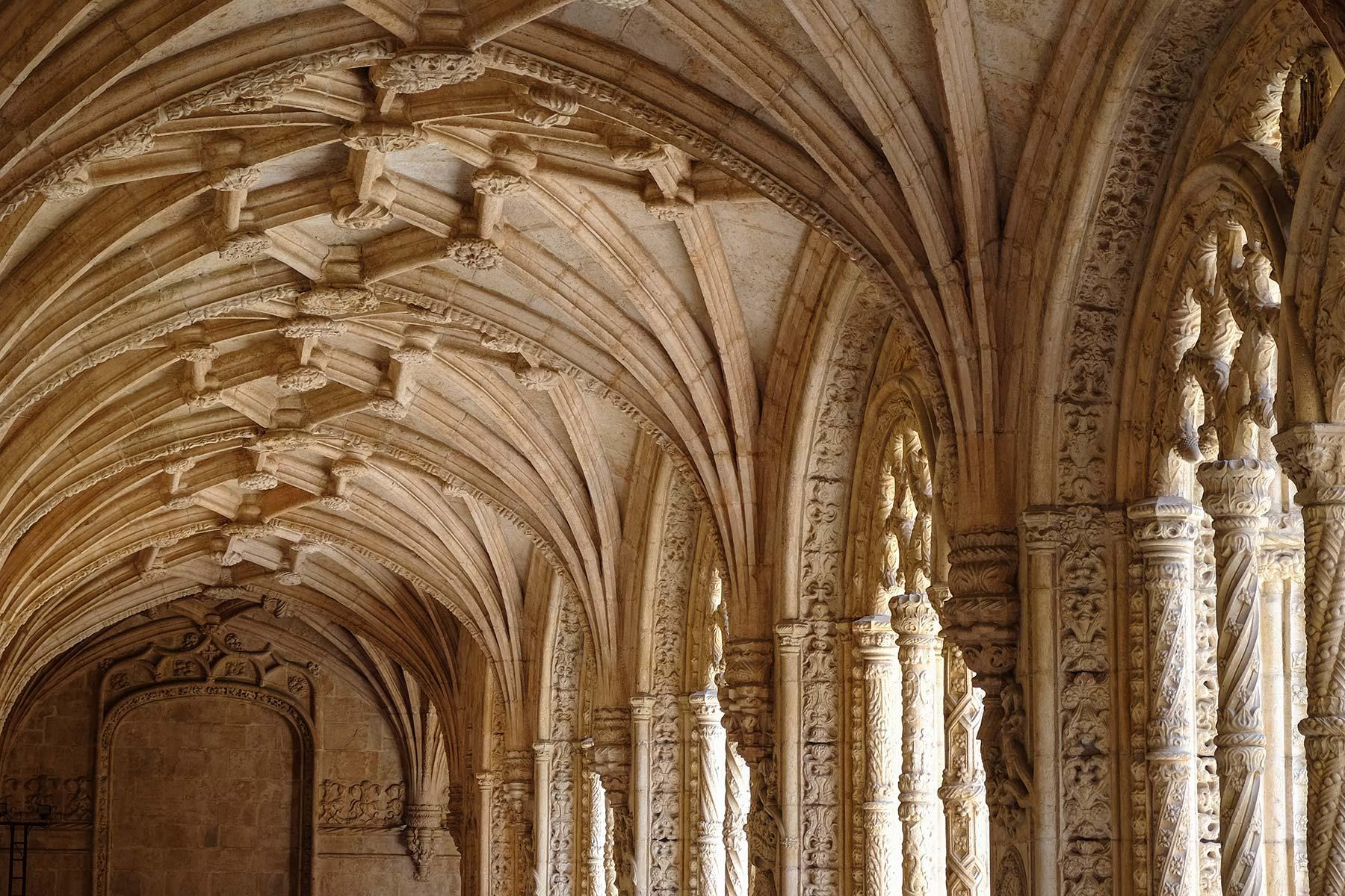 Mosteiro dos Jerónimos in Lissabon, Portugal