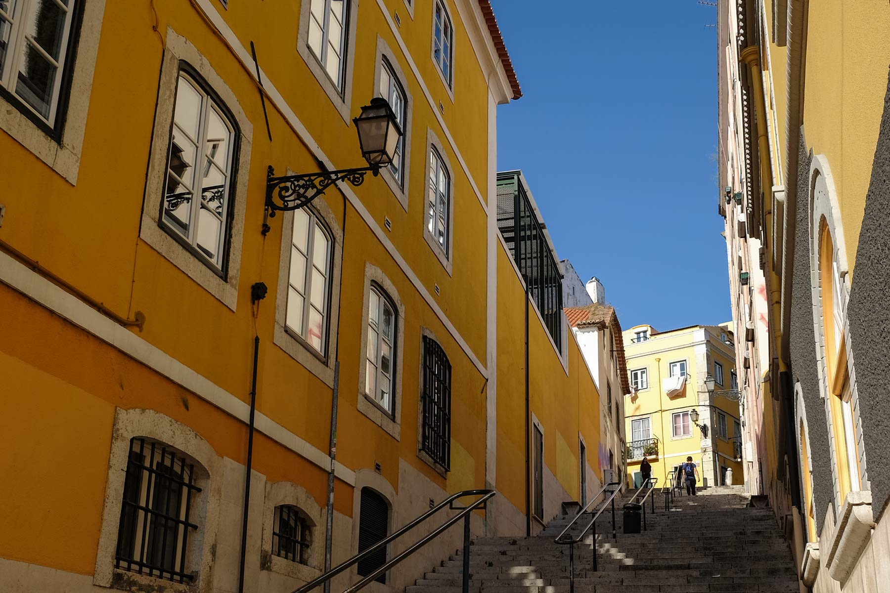 Straßen in Lissabon, Portugal