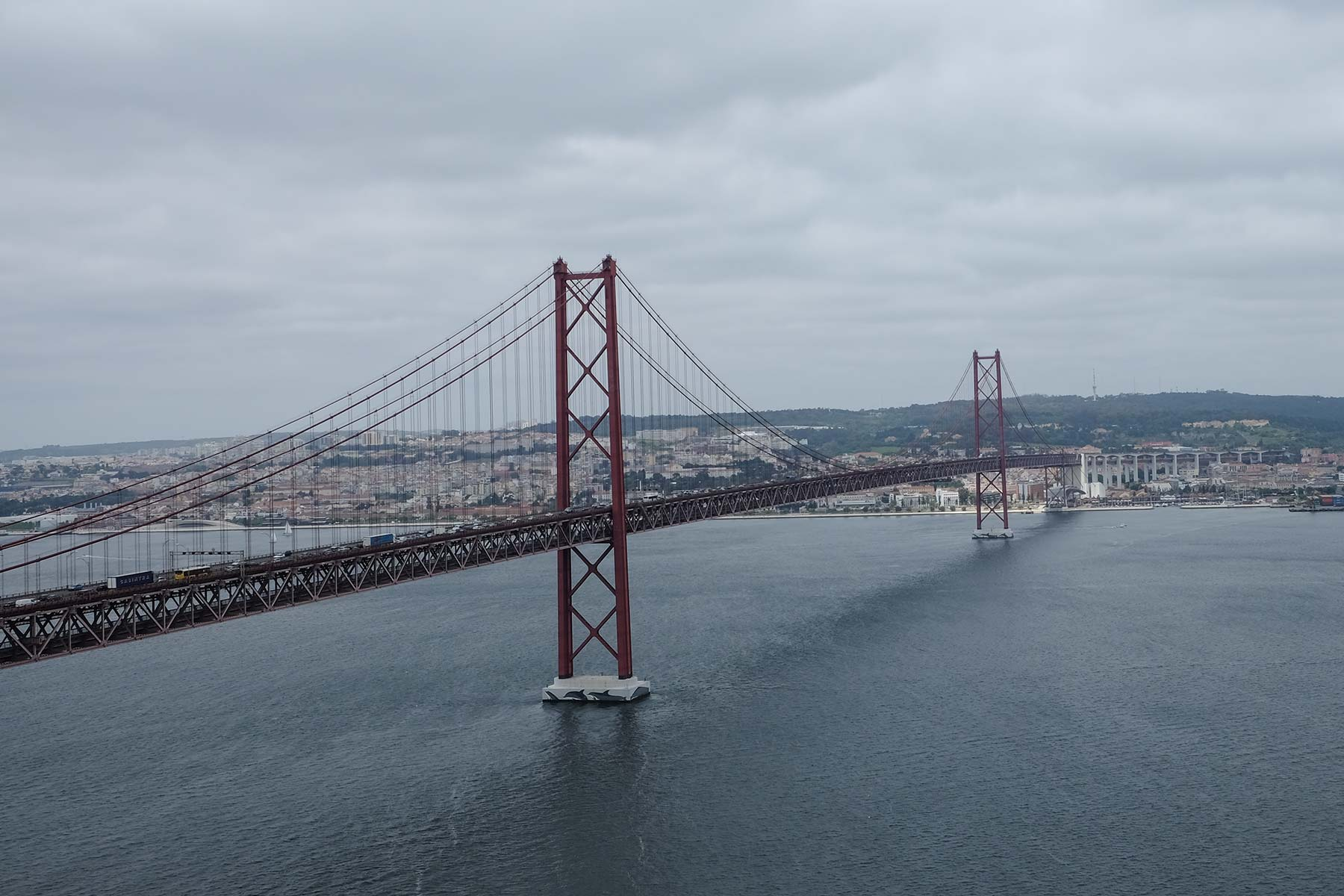 Ponte 25 de Abril in Lissabon, Portugal