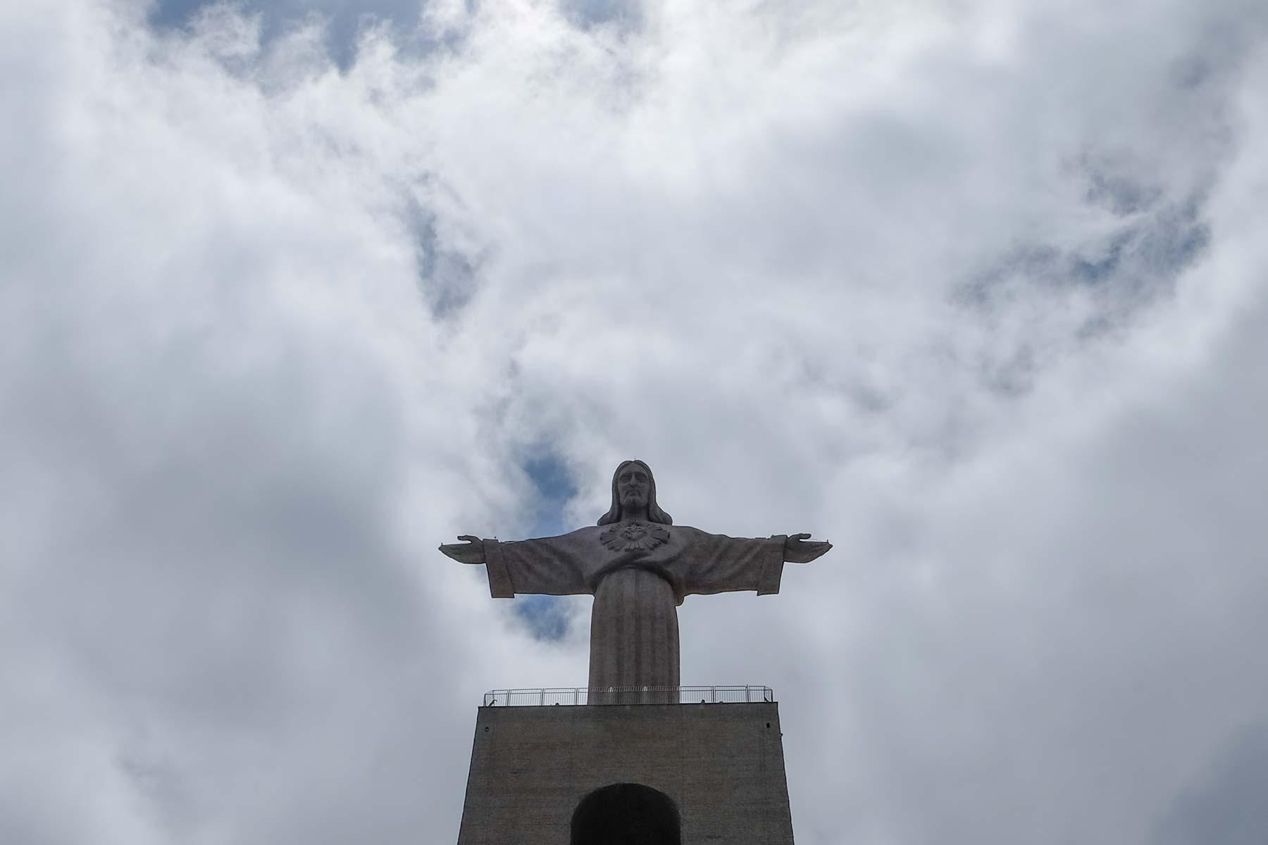 Cristo Rei Statue in Lissabon, Portugal