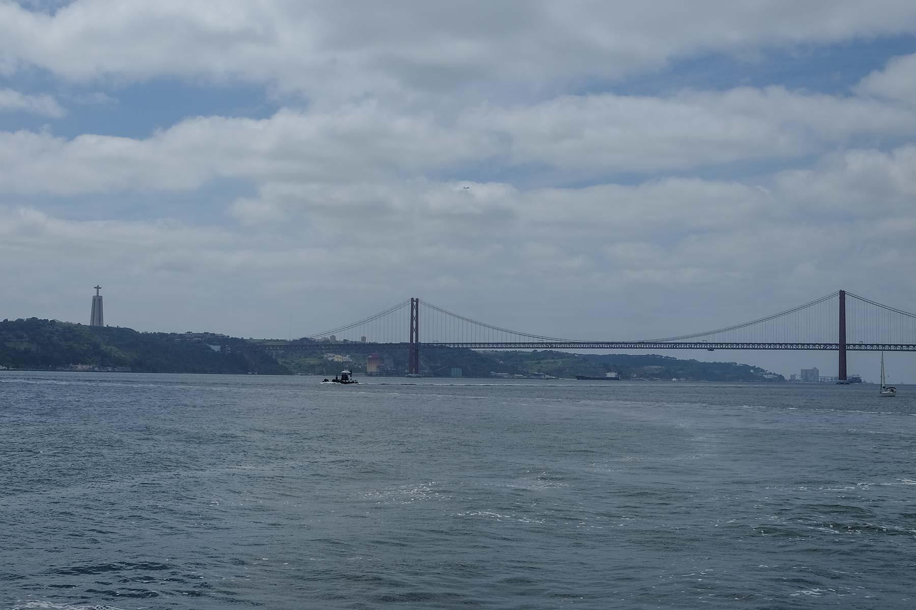 Ponte 25 de Abril in Lissabon, Portugal