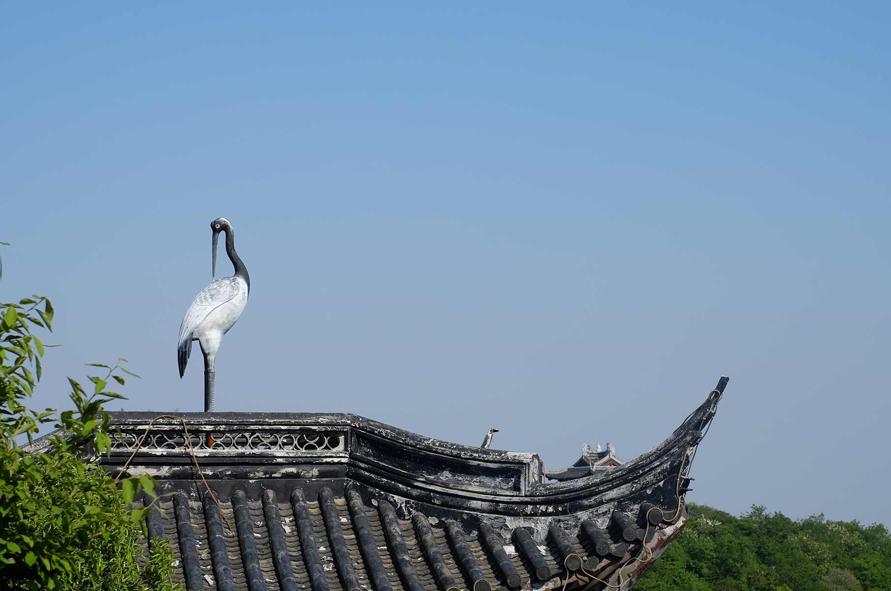 Wandern in der Qionglong Bergregion südwestlich von Suzhou