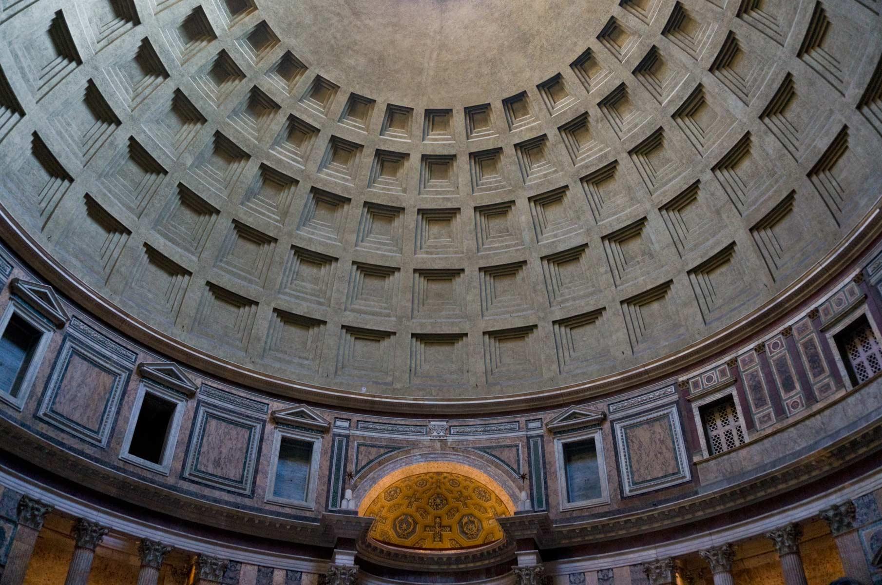 Kuppel des Pantheon in Rom, Italien