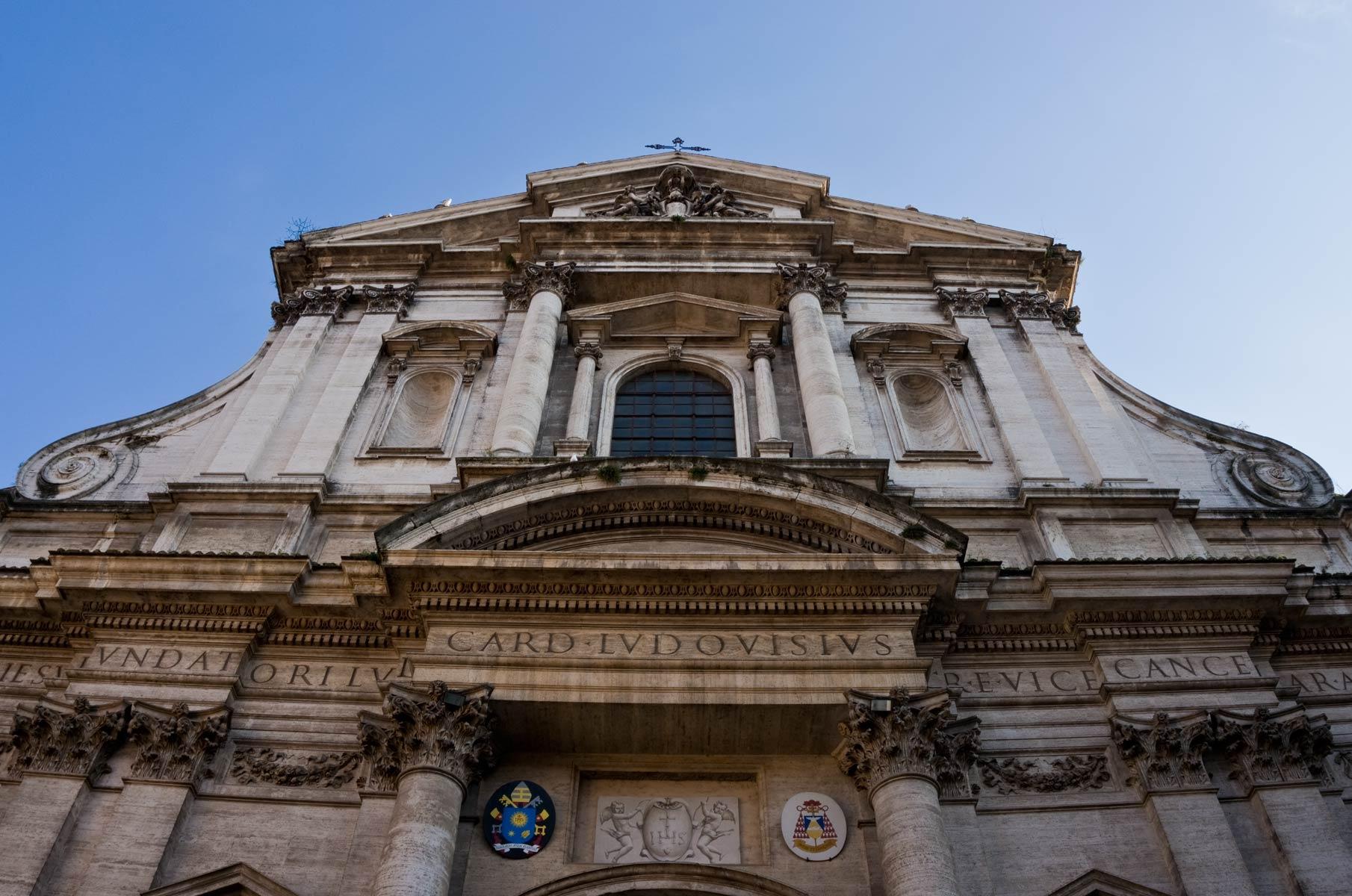 Kirche Sant'Ignazio di Loyola in Campo Marzio in Rom, Italien