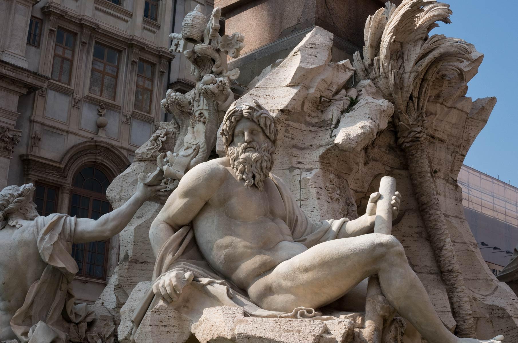 Piazza Navona in Rom, Italien