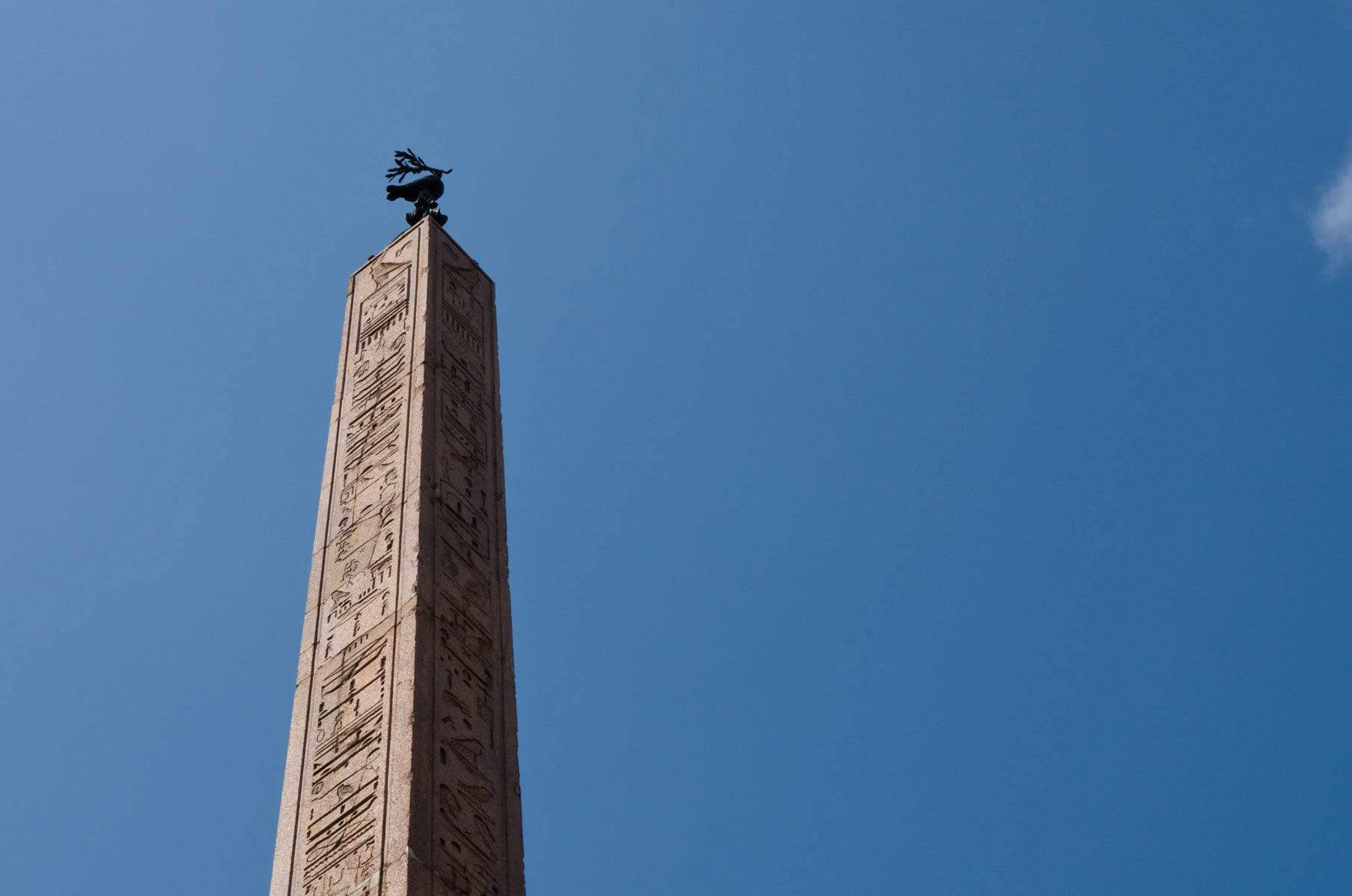 Ägyptischer Obelisk in Rom, Italien