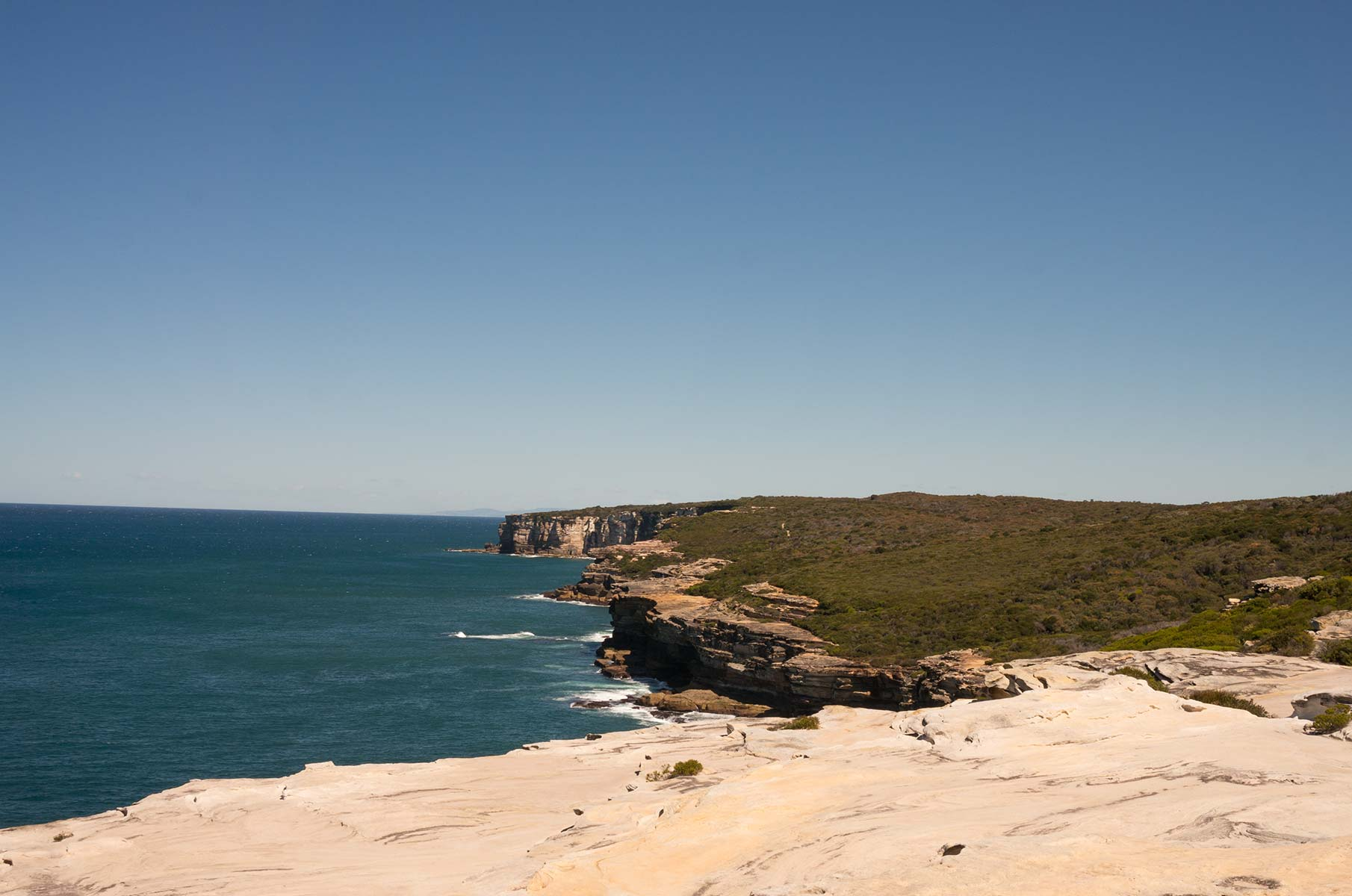 Balconies im Royal National Park, Australien