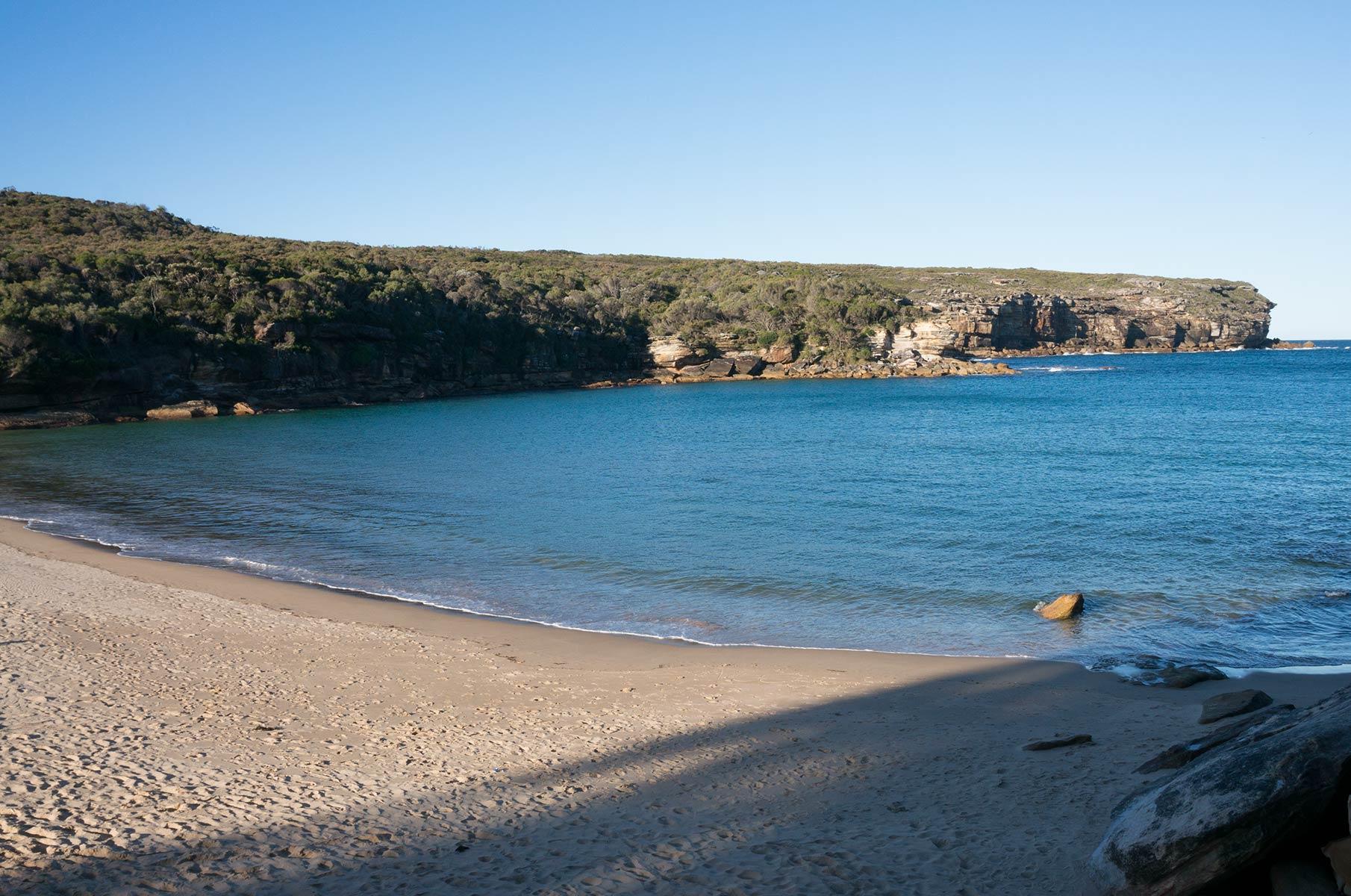 Wattamolla Beach im Royal National Park, Australien