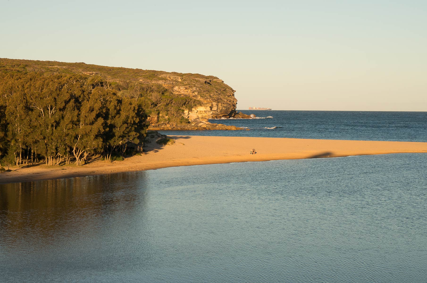 Wattamolla Beach im Royal National Park, Australien
