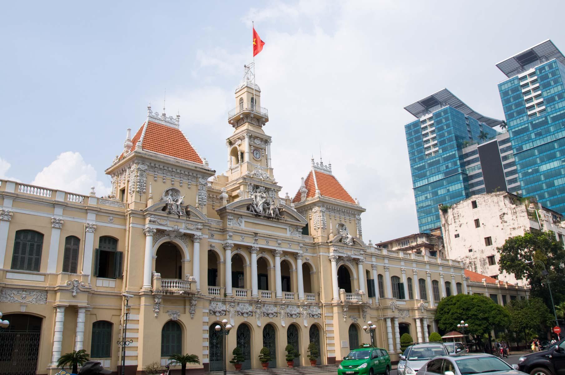 Rathaus von Saigon (Ho-Chi-Minh Stadt), Vietnam