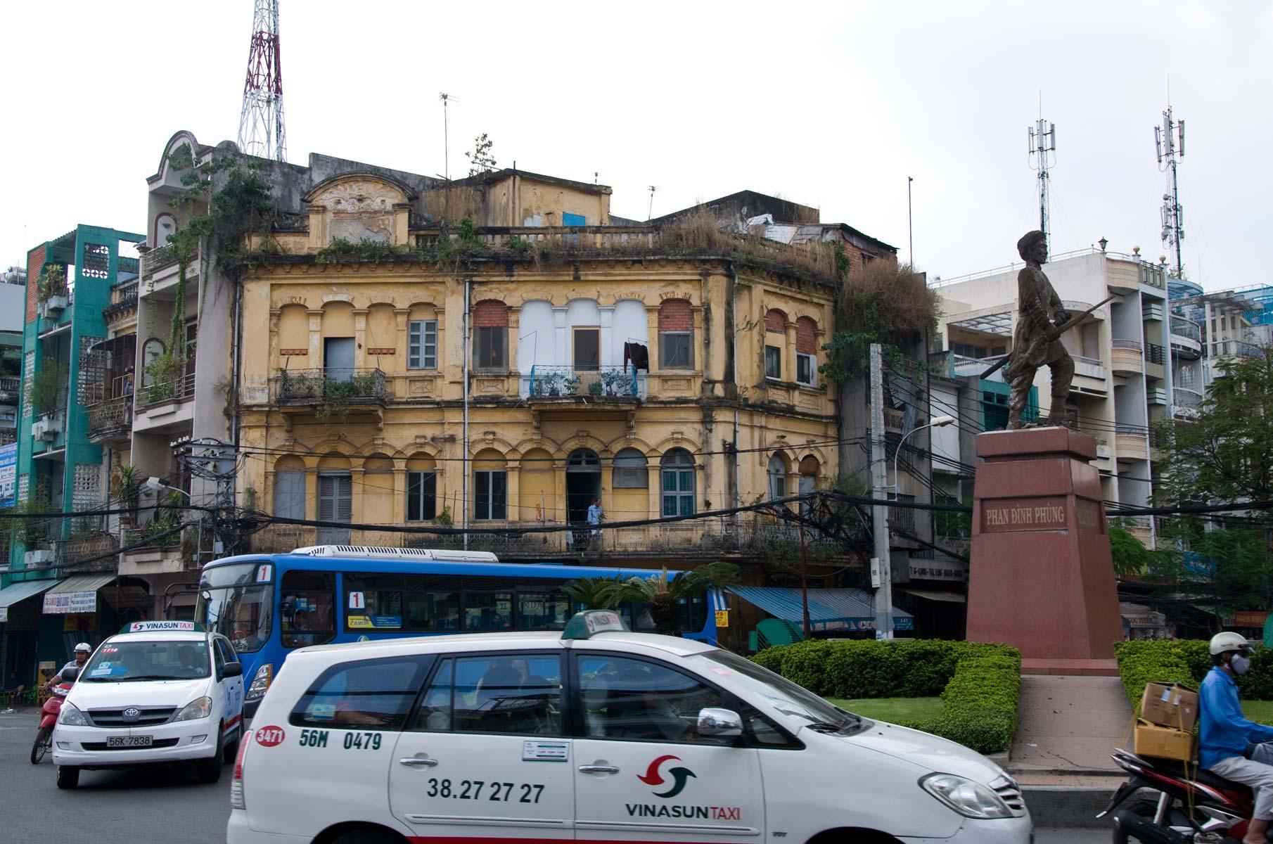 Straßenszene in Saigon (Ho-Chi-Minh Stadt), Vietnam