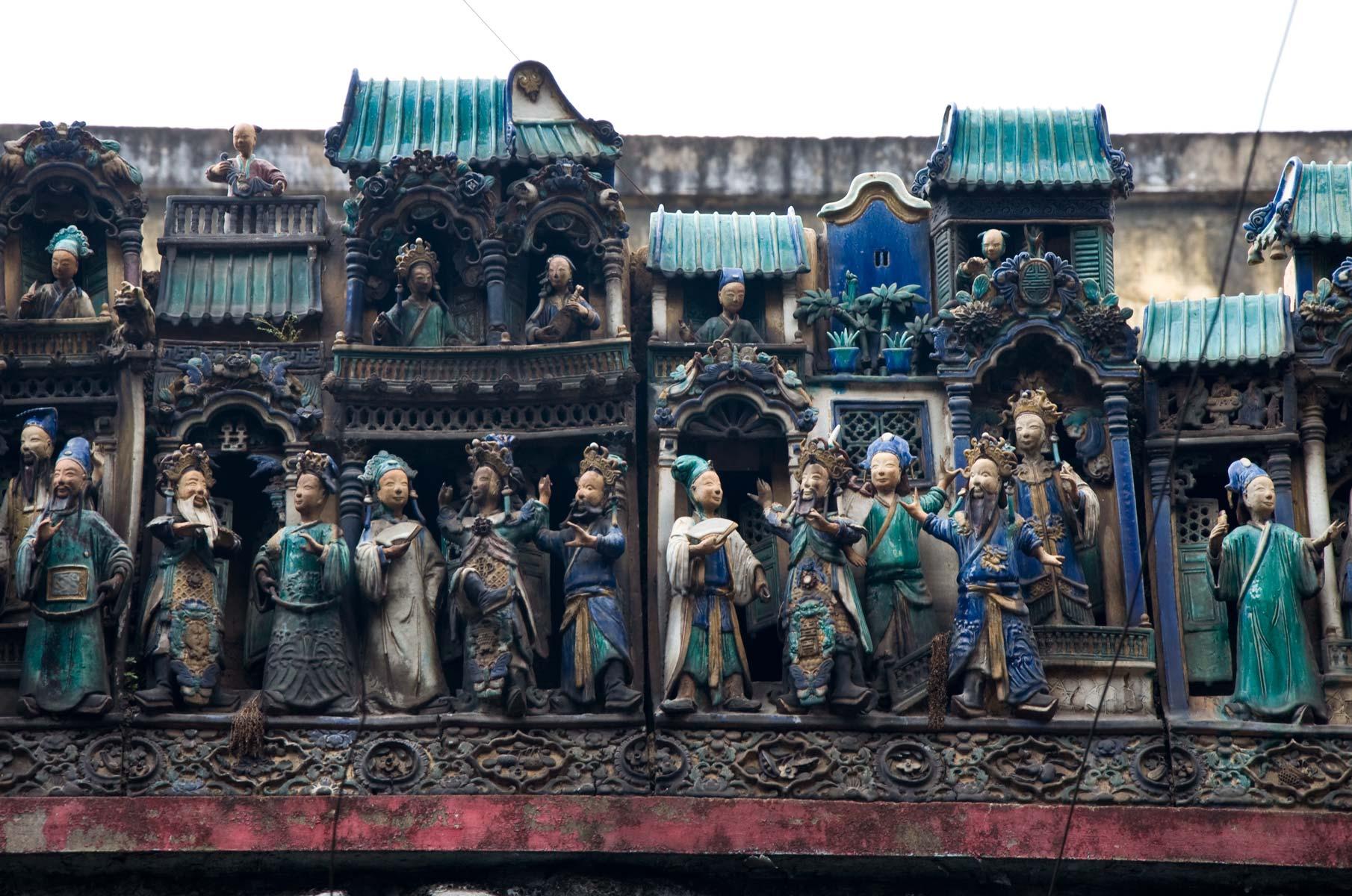 Thien Hau Tempel in Saigon (Ho-Chi-Minh Stadt), Vietnam