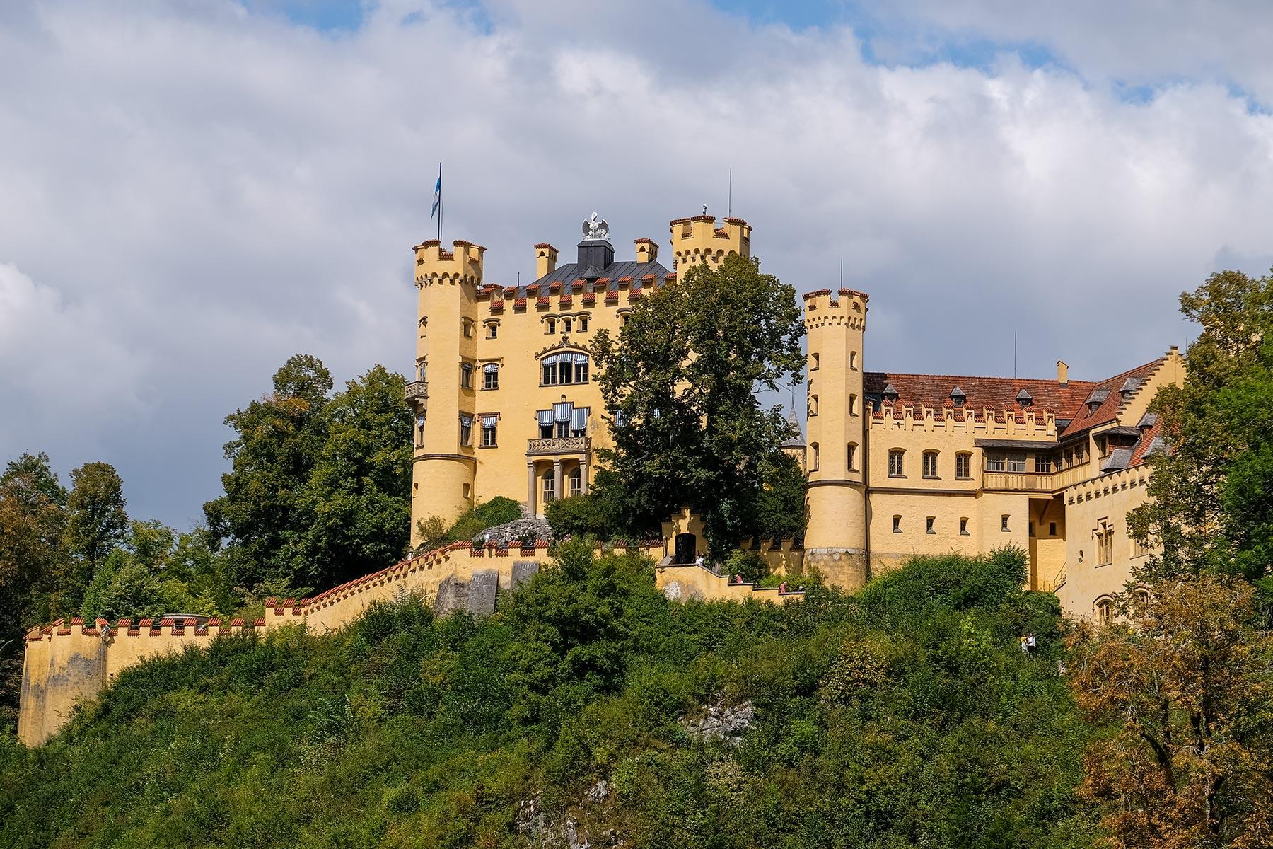 Schloss Hohenschwangau aus dem 12. Jahrhundert