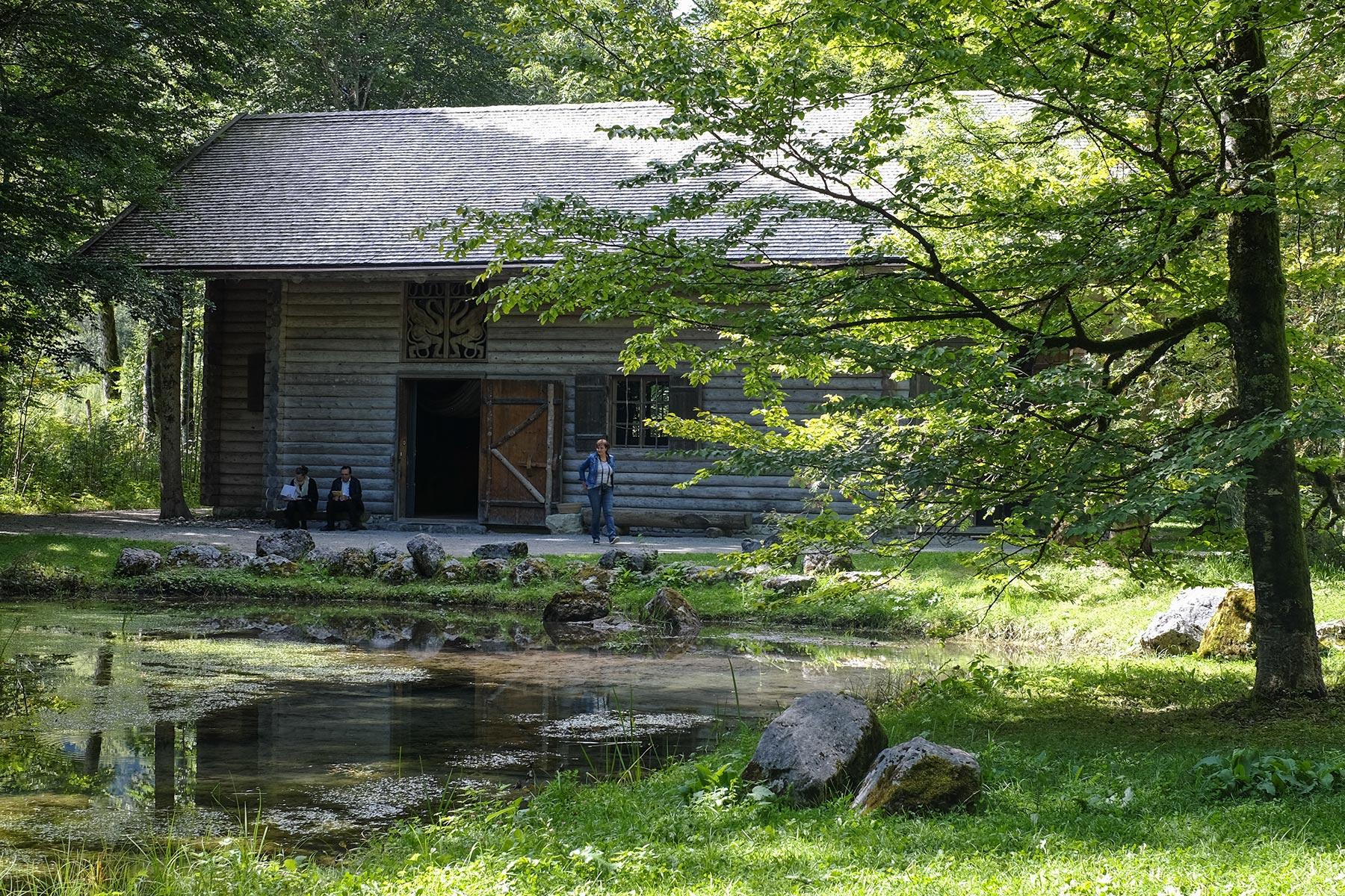 Hundinghütte im Park Linderhof, Ettal