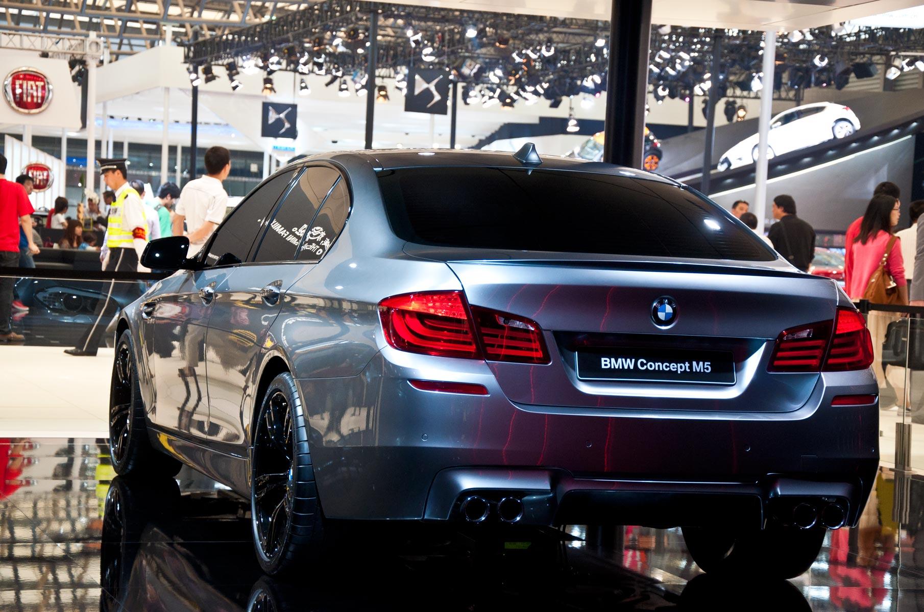 BMW Concept M5 Konzeptwagen auf der Auto Shanghai 2011 in China