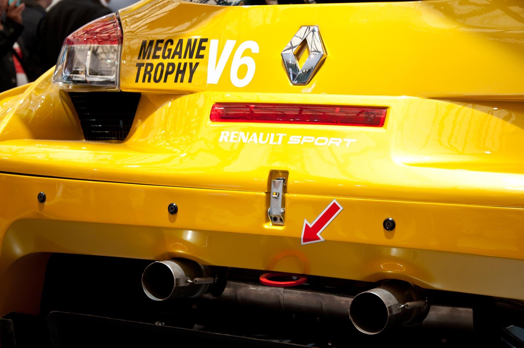 Renault Megane Trophy V6 auf der Auto Shanghai 2011 in China