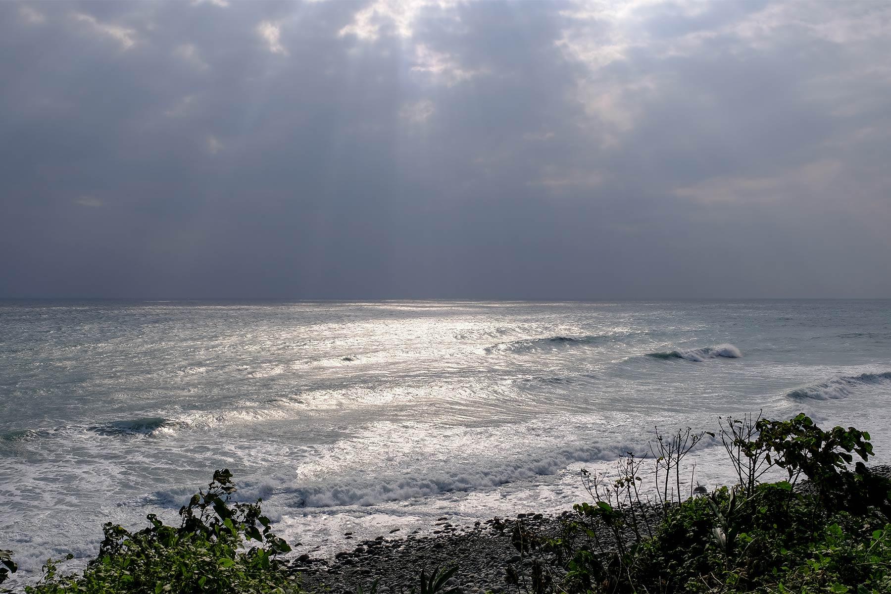 Pazifik in der Nähe von Shitiping