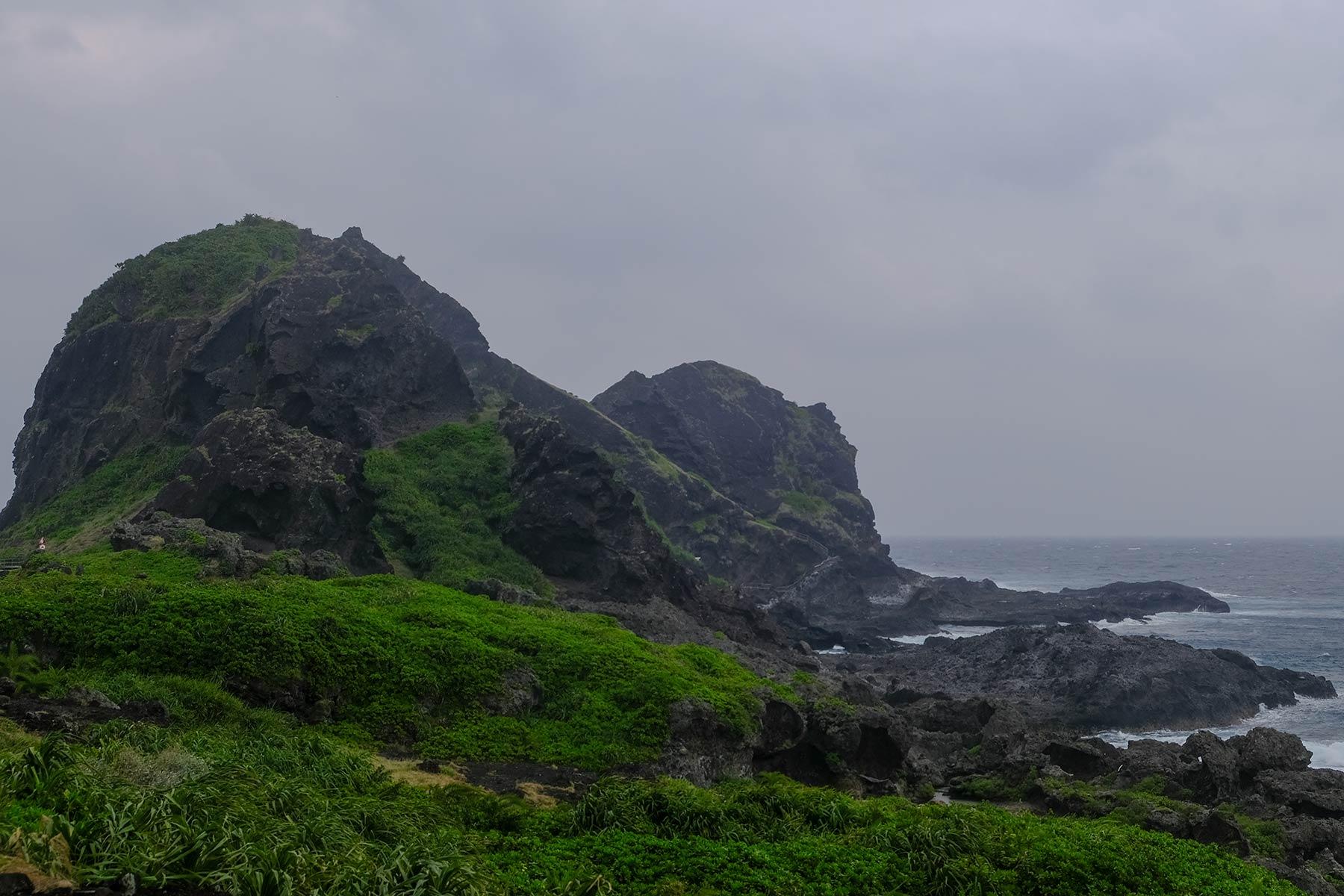 Sanxiantai Insel in Taiwan