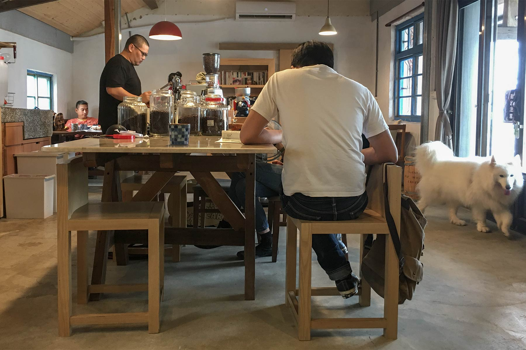 Juda Shaonian Café in Taiwan