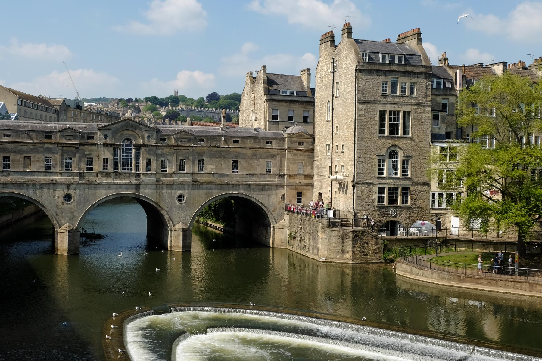 Pulteney Brücke in Bath, Somerset