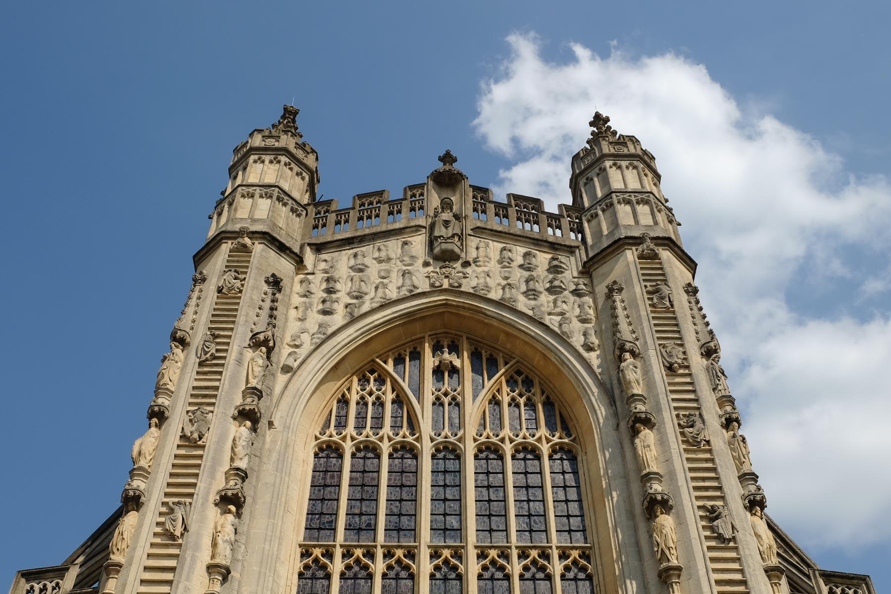 Abteikirche in Bath, Somerset