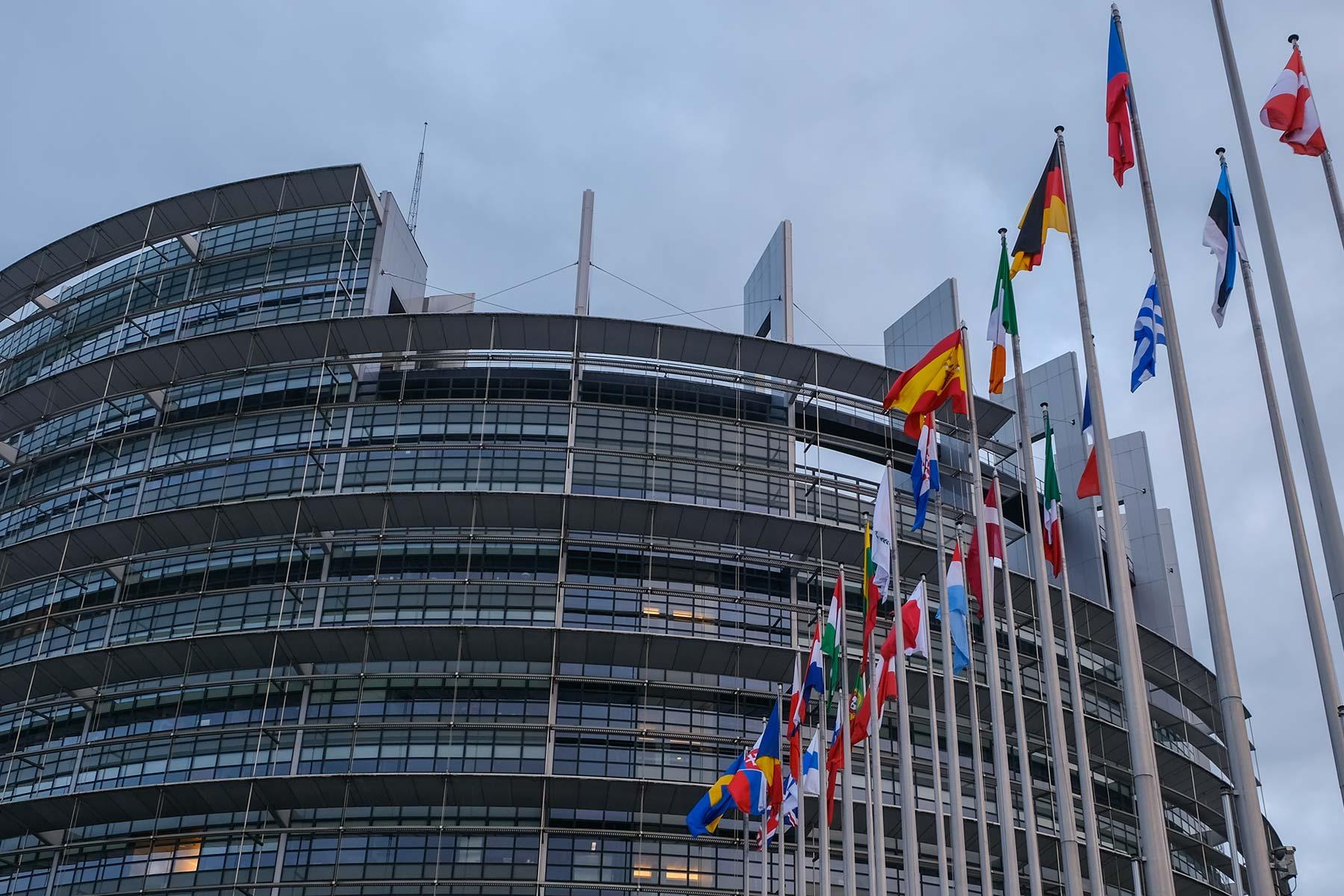 Europäische Parlament in Straßburg