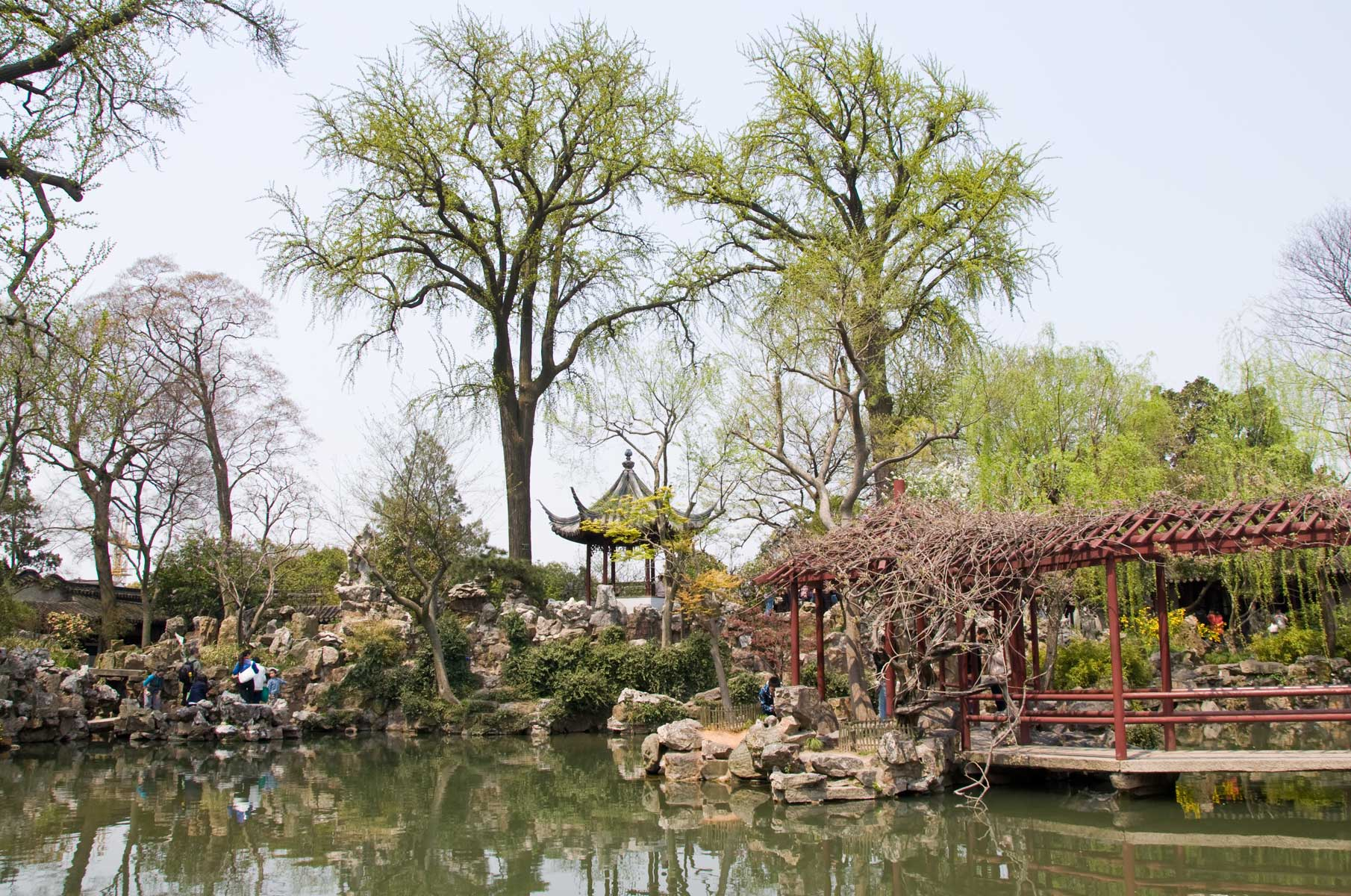 Liu Garten in Suzhou, China