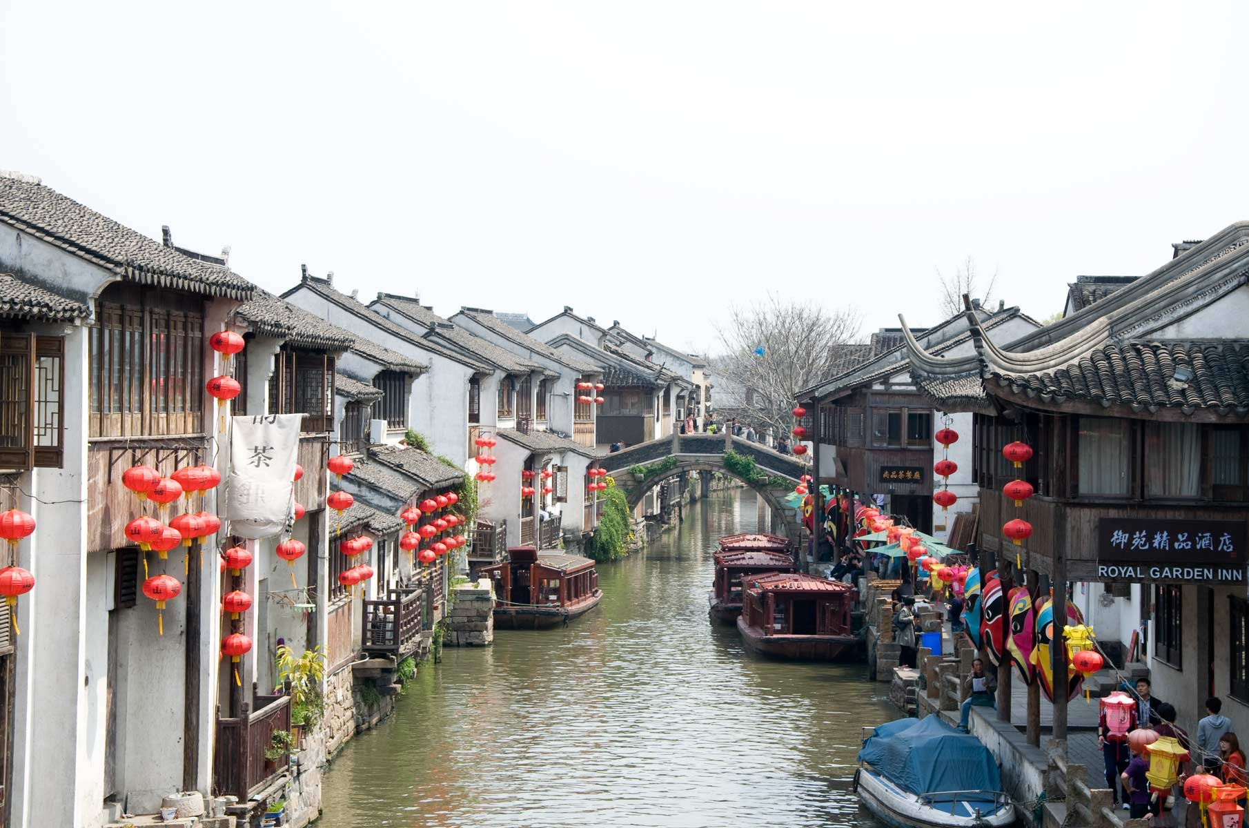 Altstadt in Suzhou, China